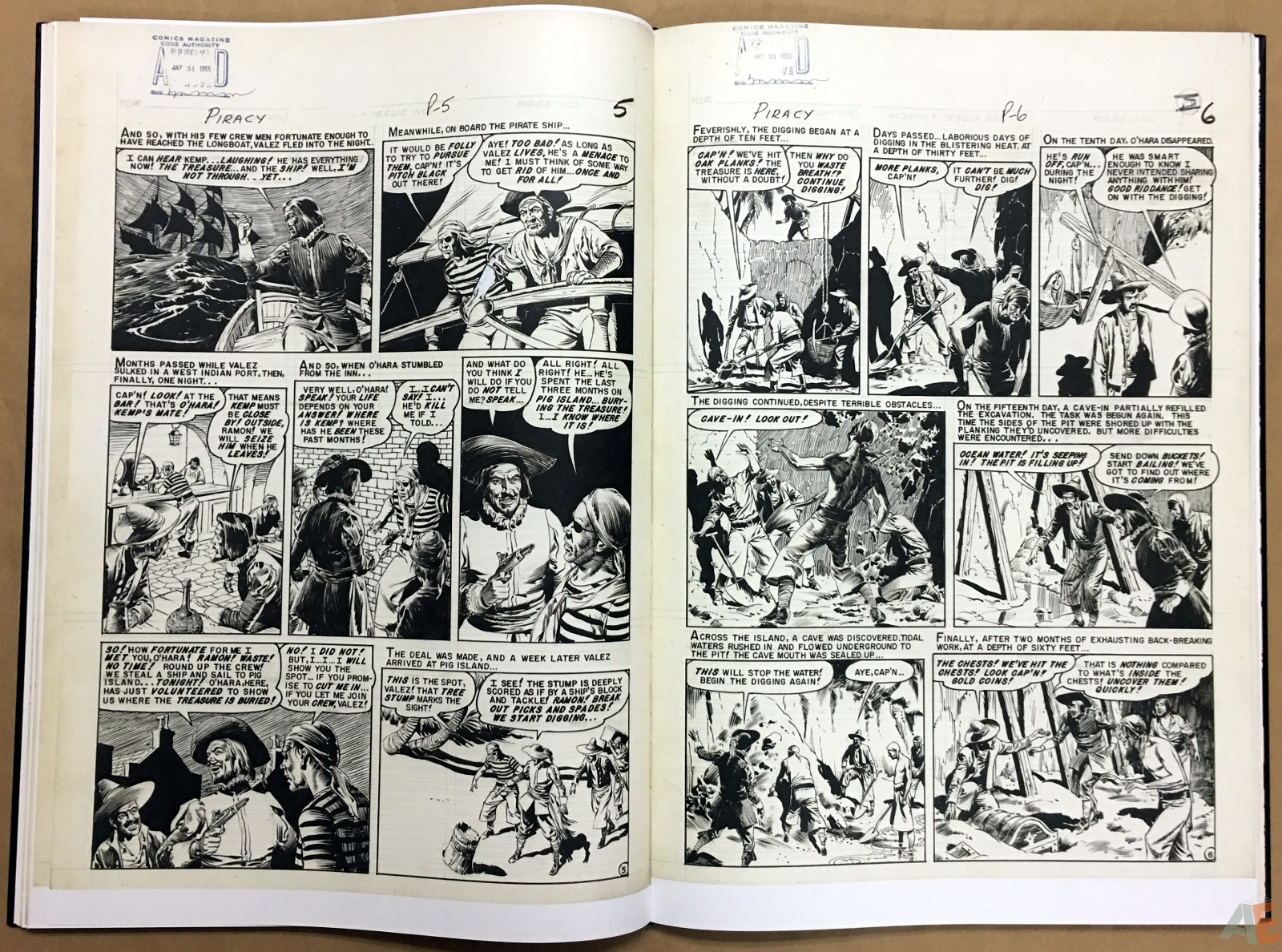 Reed Crandall's EC Stories Artist's Edition 24