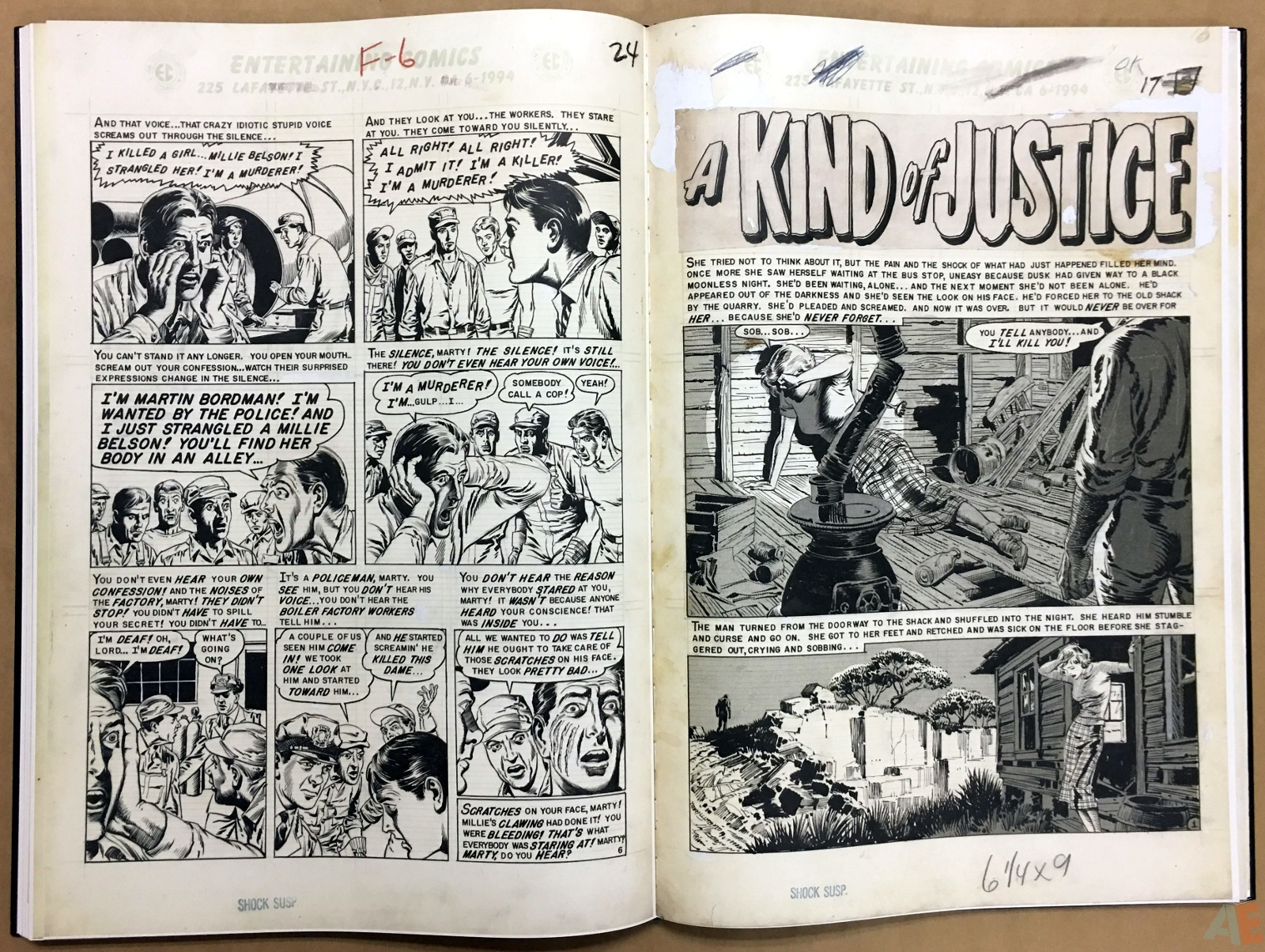 Reed Crandall's EC Stories Artist's Edition 32