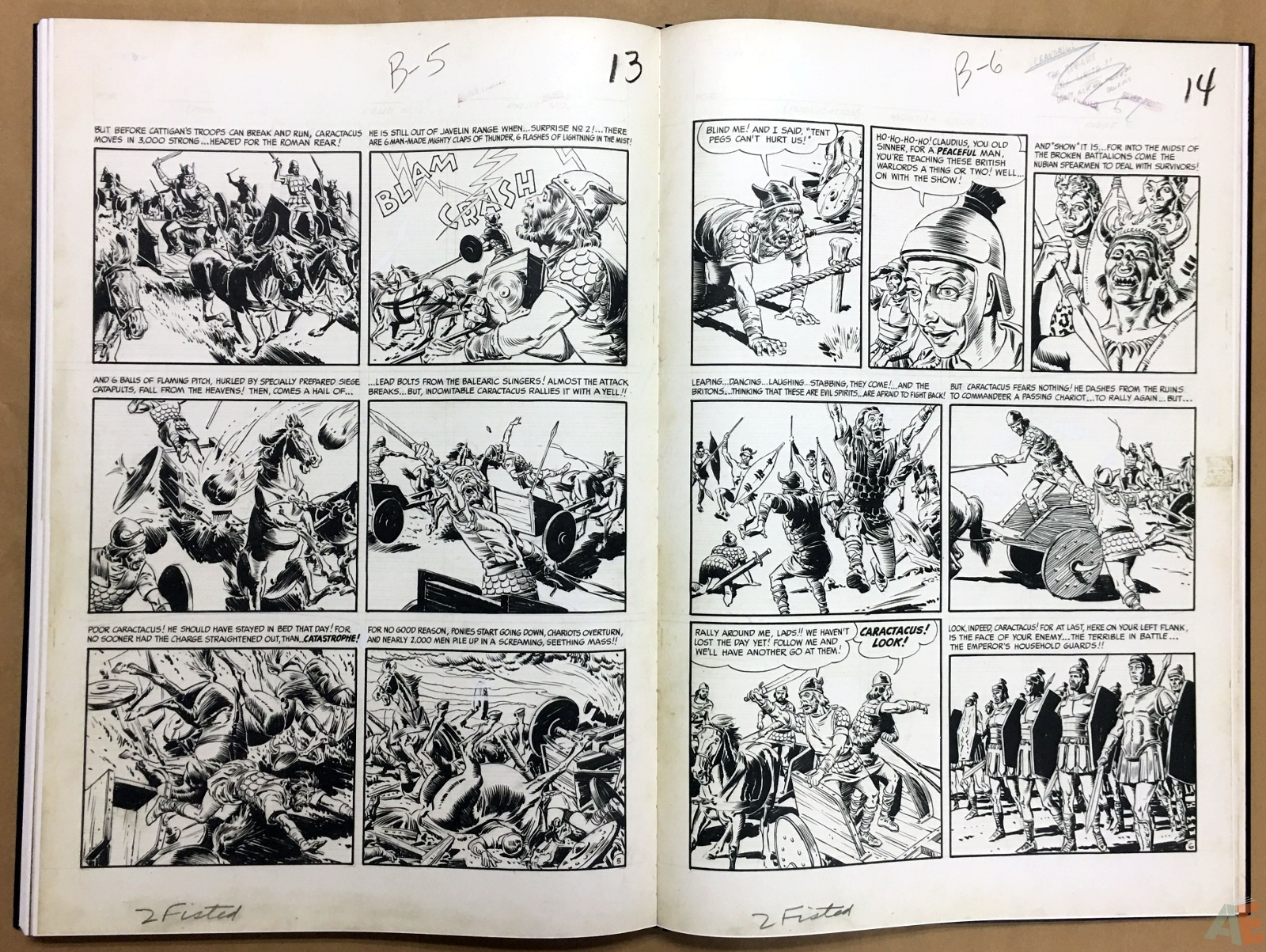 Reed Crandall's EC Stories Artist's Edition 38