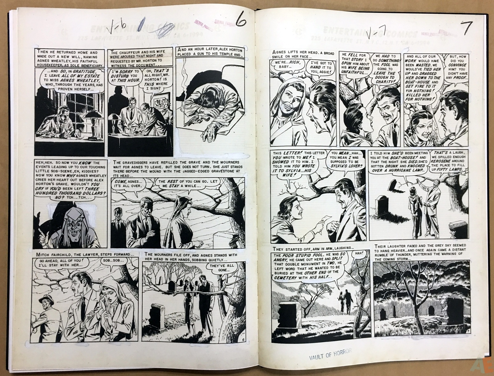Reed Crandall's EC Stories Artist's Edition 40