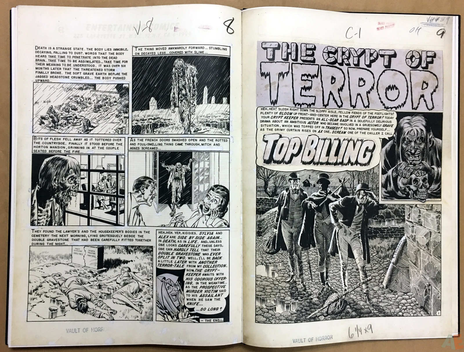 Reed Crandall's EC Stories Artist's Edition 42