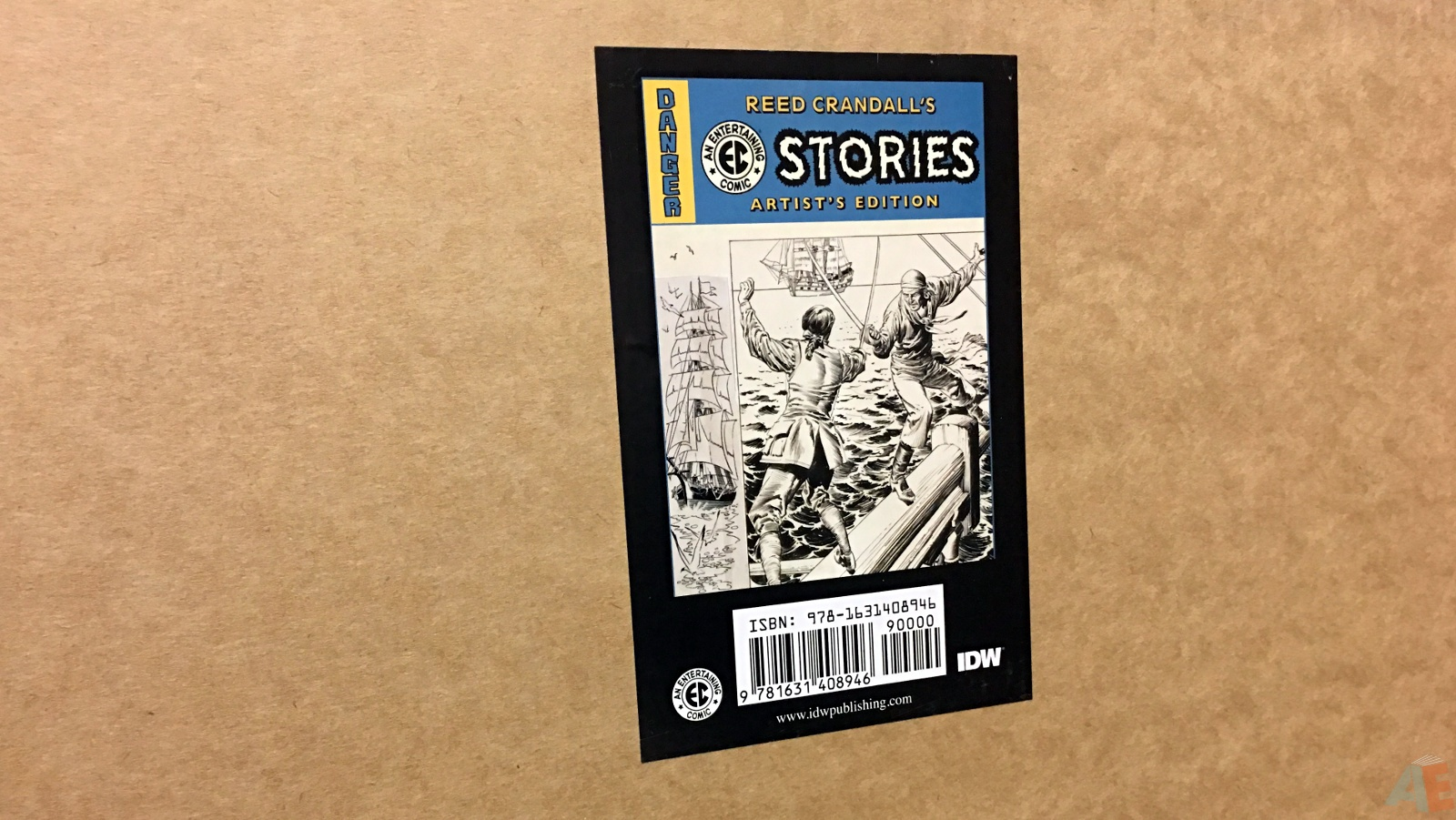 Reed Crandall's EC Stories Artist's Edition 48