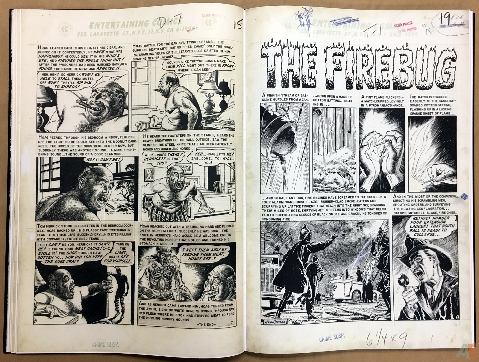 Reed Crandall's EC Stories Artist's Edition 16