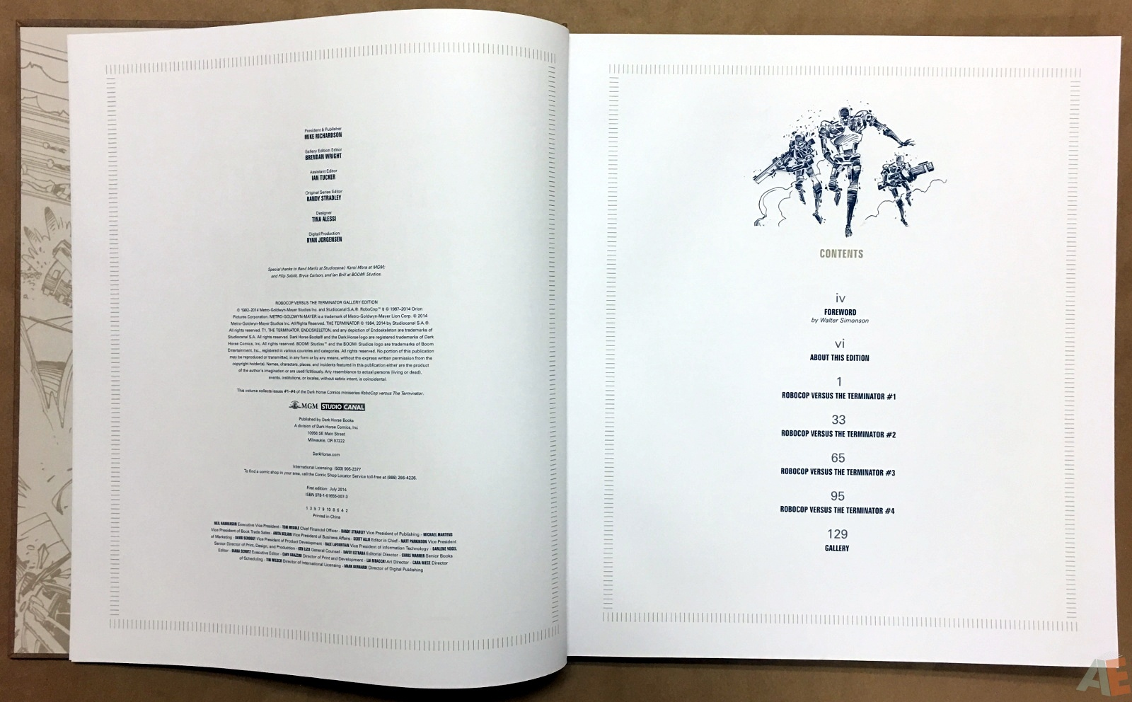 Robocop Versus The Terminator Gallery Edition