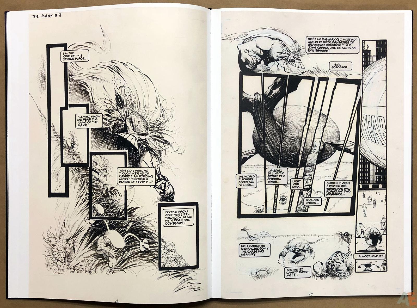 Sam Kieth's The Maxx Artist's Edition