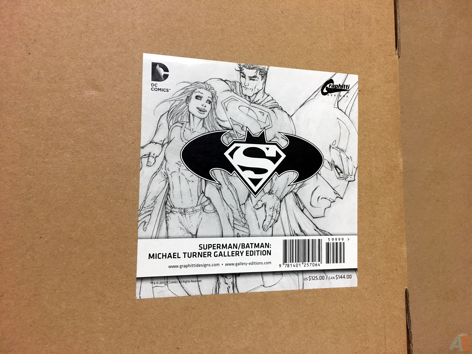 Superman/Batman: Michael Turner Gallery Edition 64