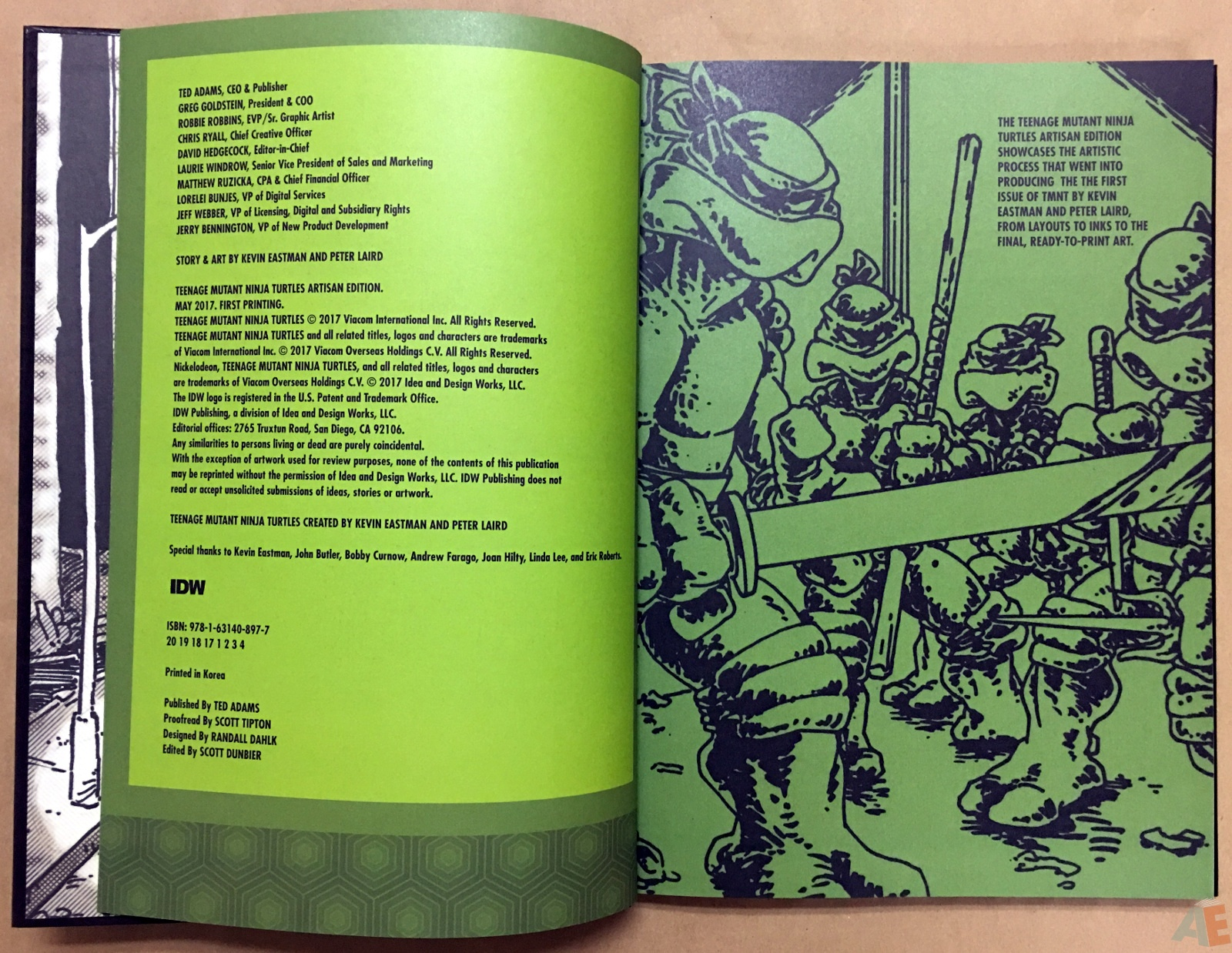 Teenage Mutant Ninja Turtles Artisan Edition 4