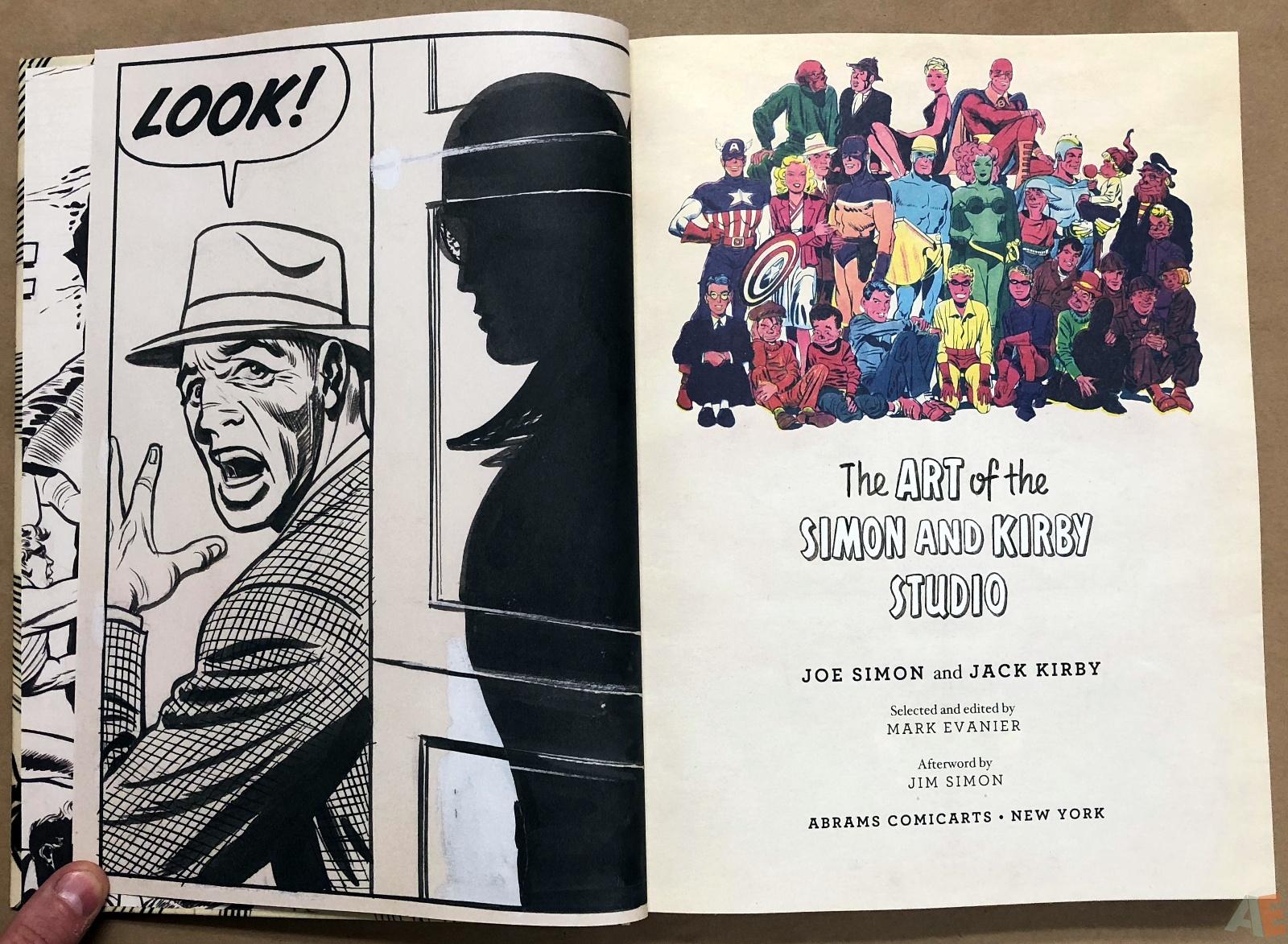 The Art of the Simon And Kirby Studio