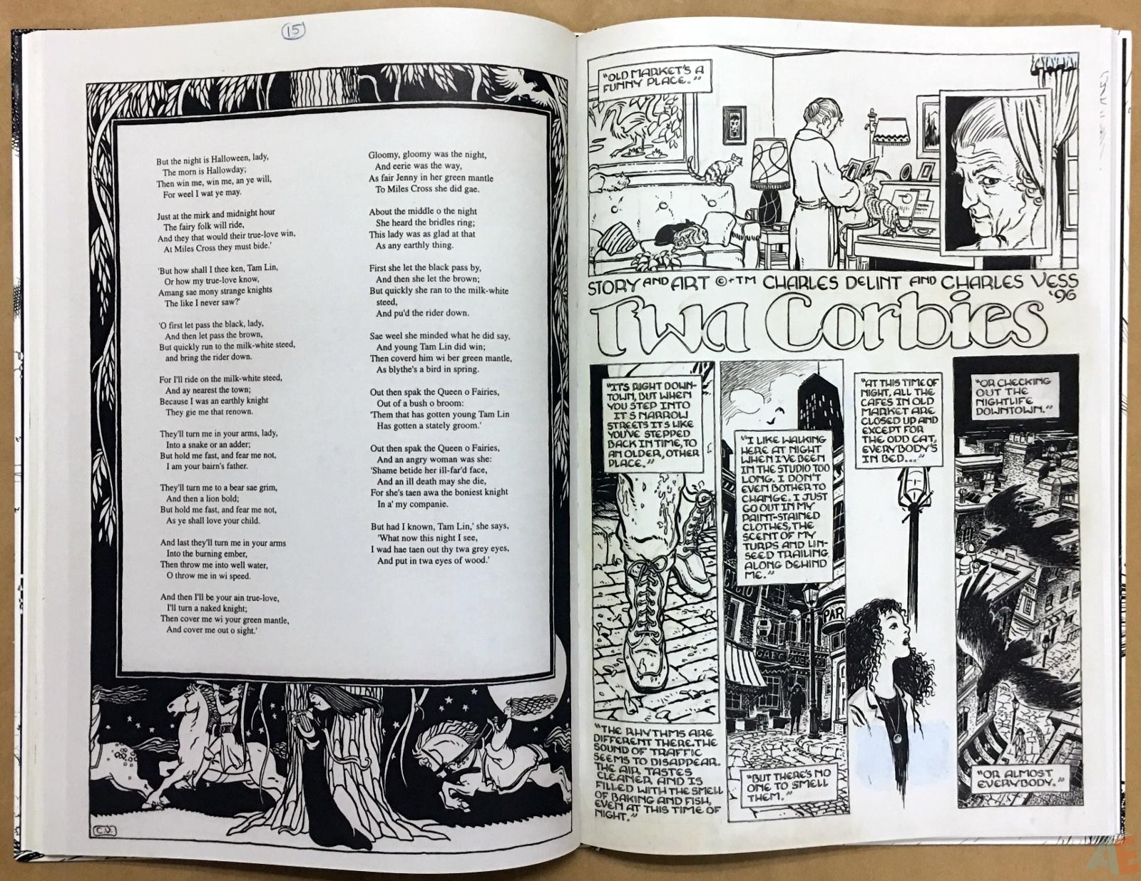 The Book Of Ballads, The Original Art Edition 28