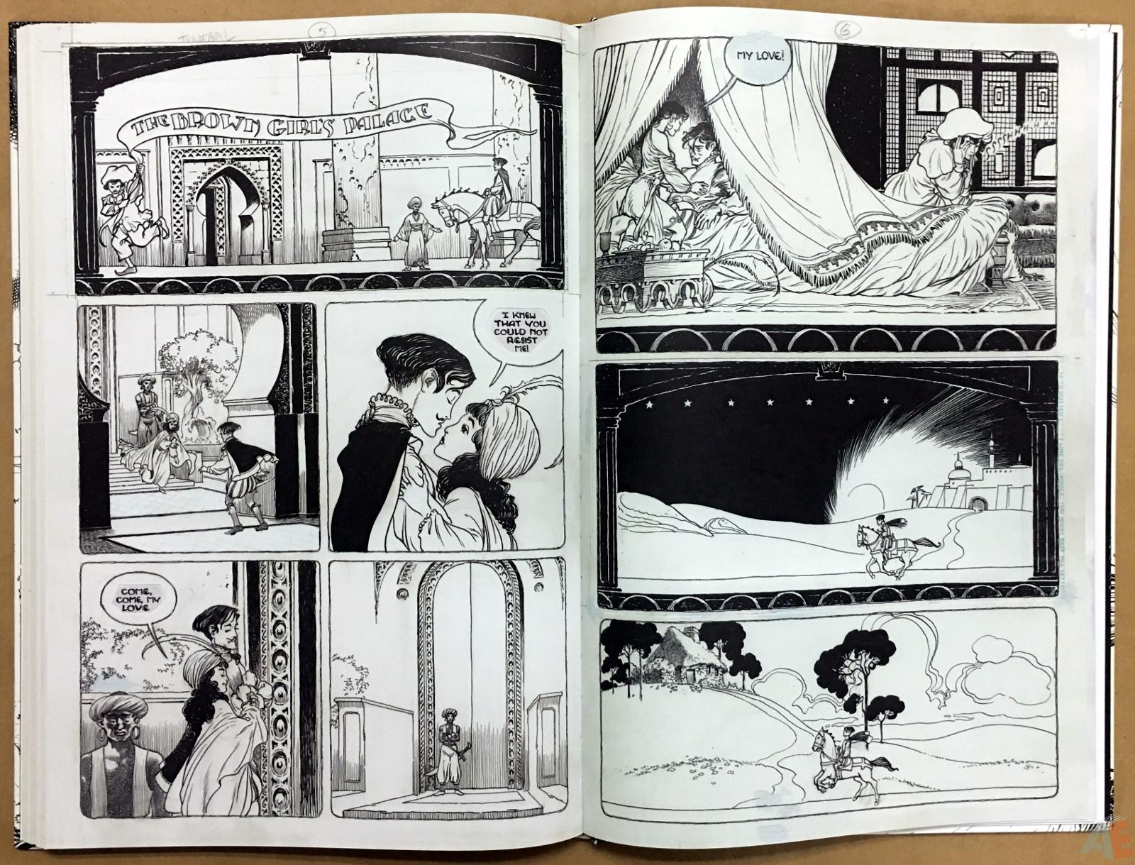 The Book Of Ballads, The Original Art Edition 38