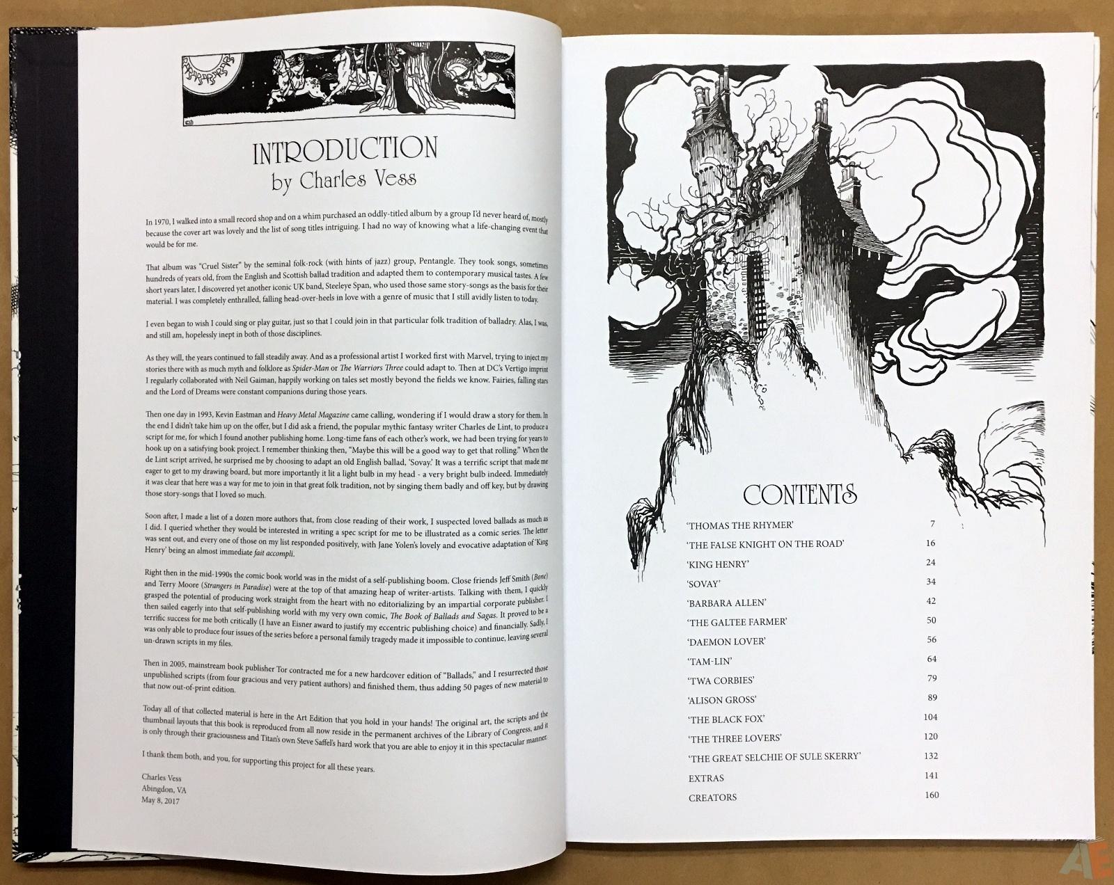 The Book Of Ballads, The Original Art Edition 6
