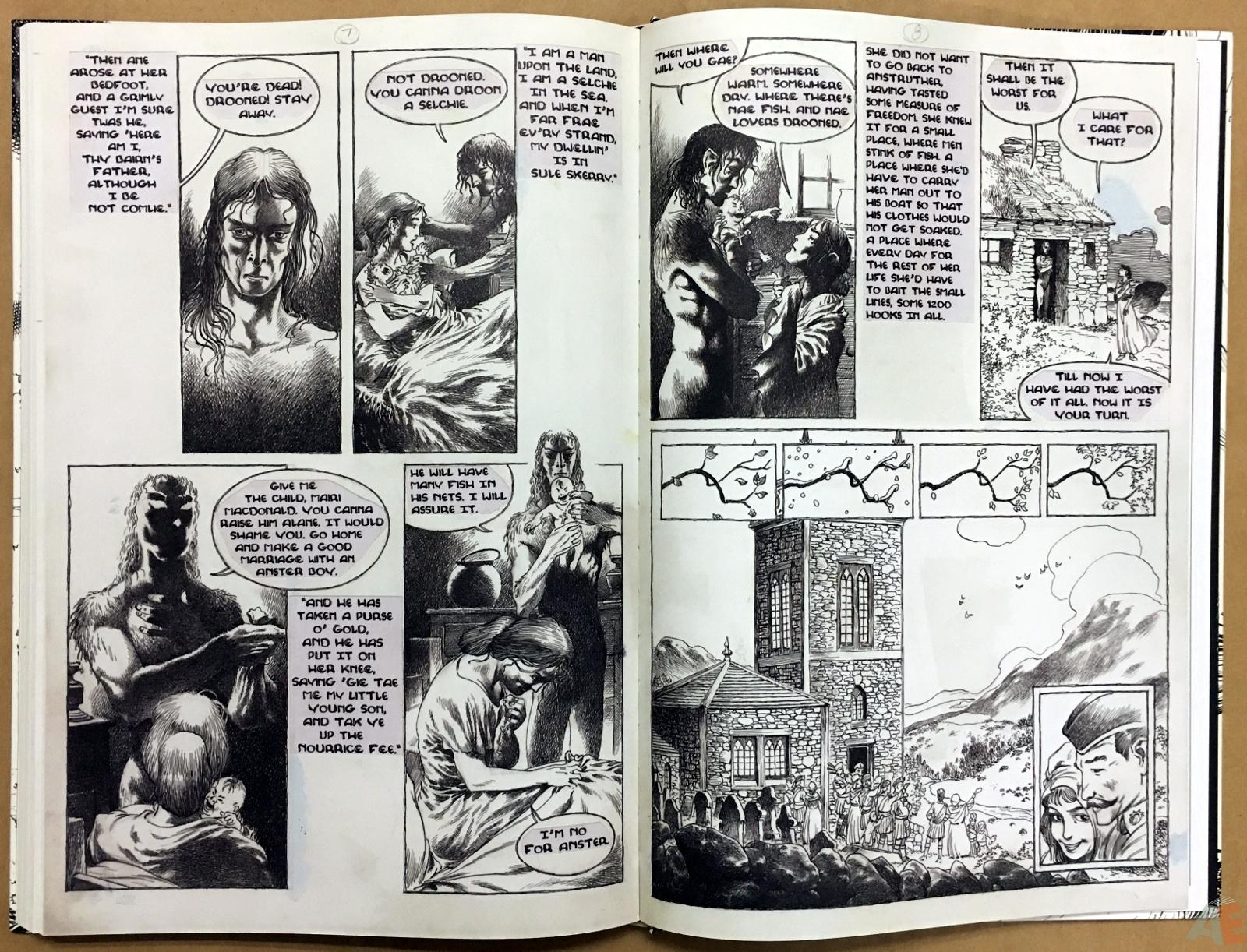The Book Of Ballads, The Original Art Edition 42