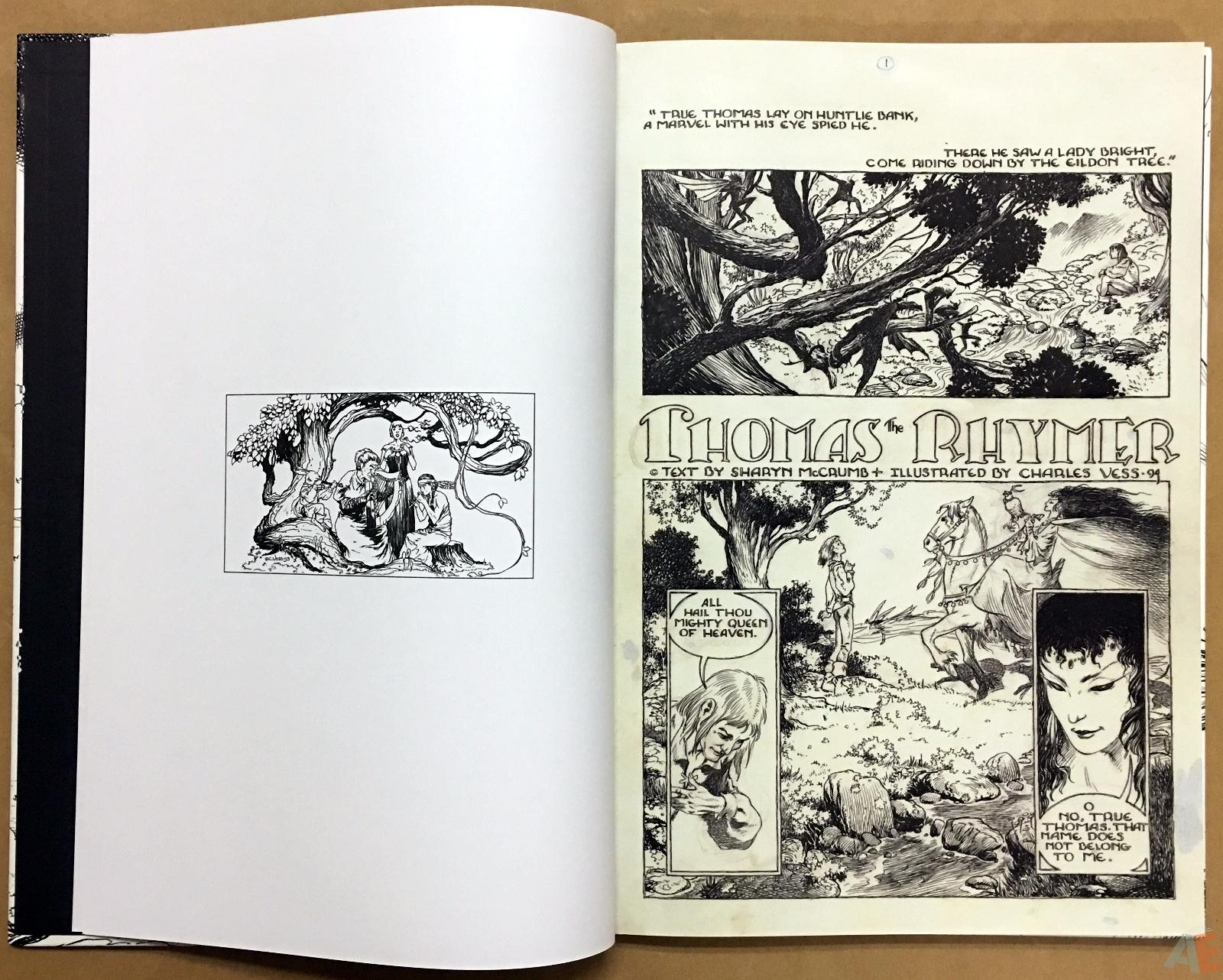 The Book Of Ballads, The Original Art Edition 8