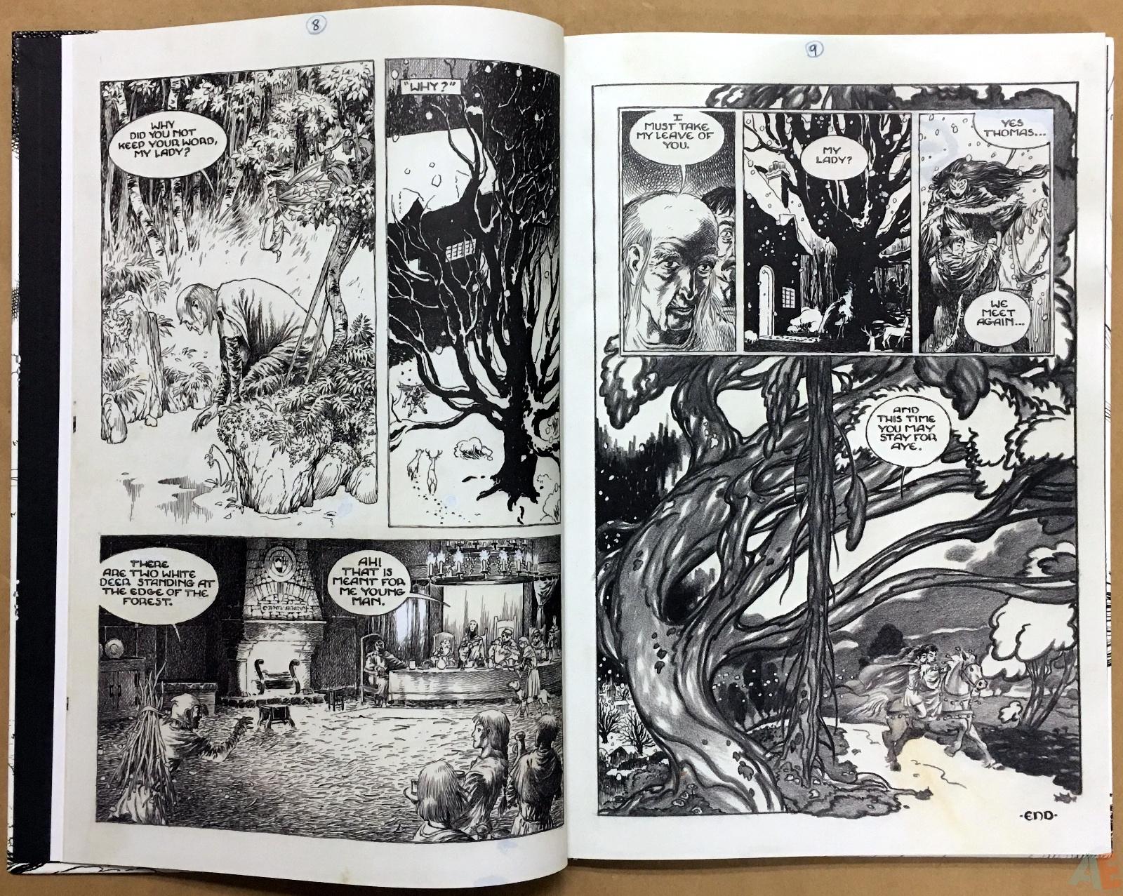 The Book Of Ballads, The Original Art Edition 10