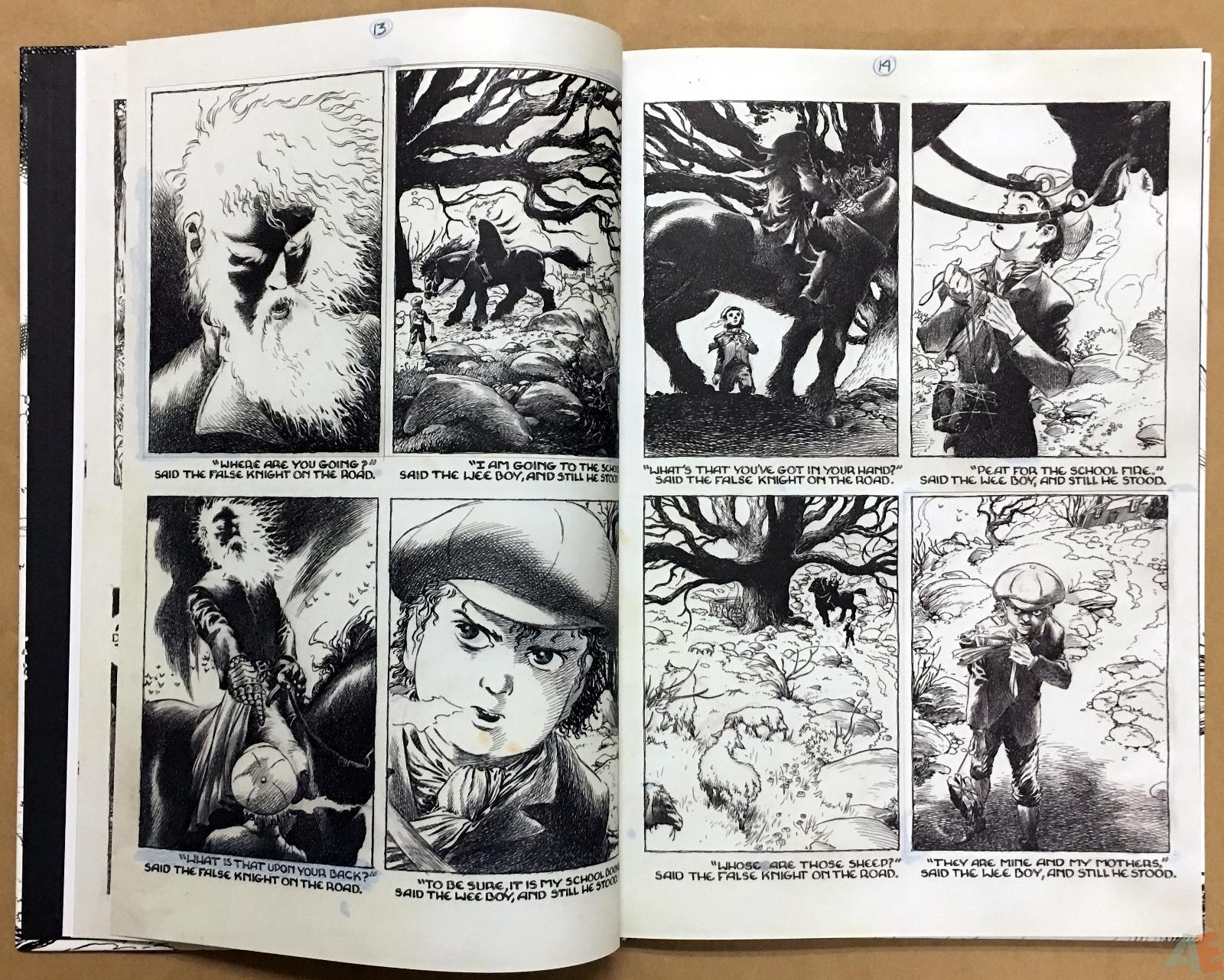 The Book Of Ballads, The Original Art Edition 12