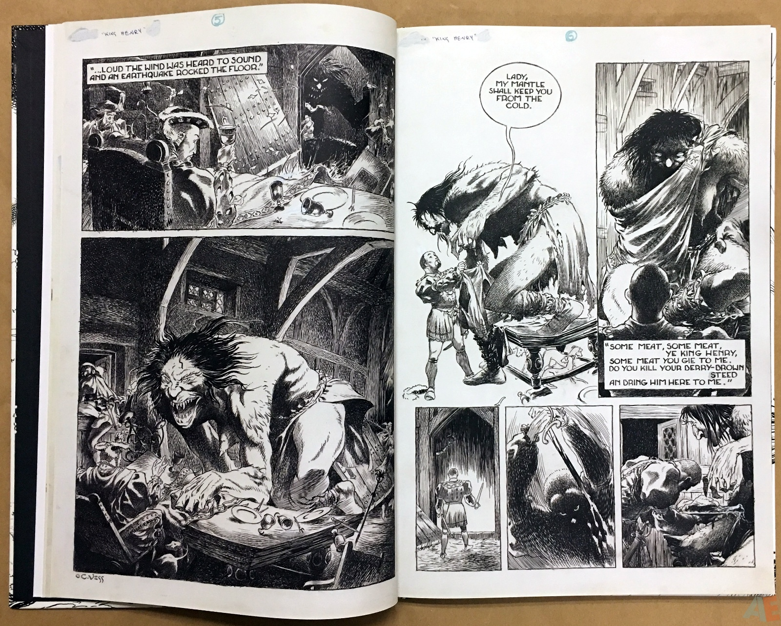 The Book Of Ballads, The Original Art Edition 14