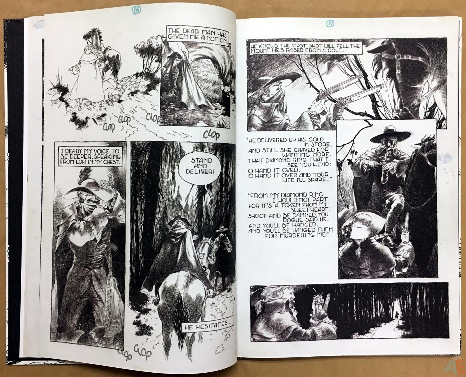 The Book Of Ballads, The Original Art Edition 16