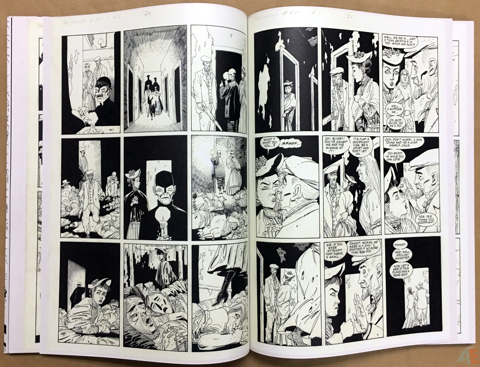 The League Of Extraordinary Gentlemen: Kevin O'Neill Gallery Edition 26