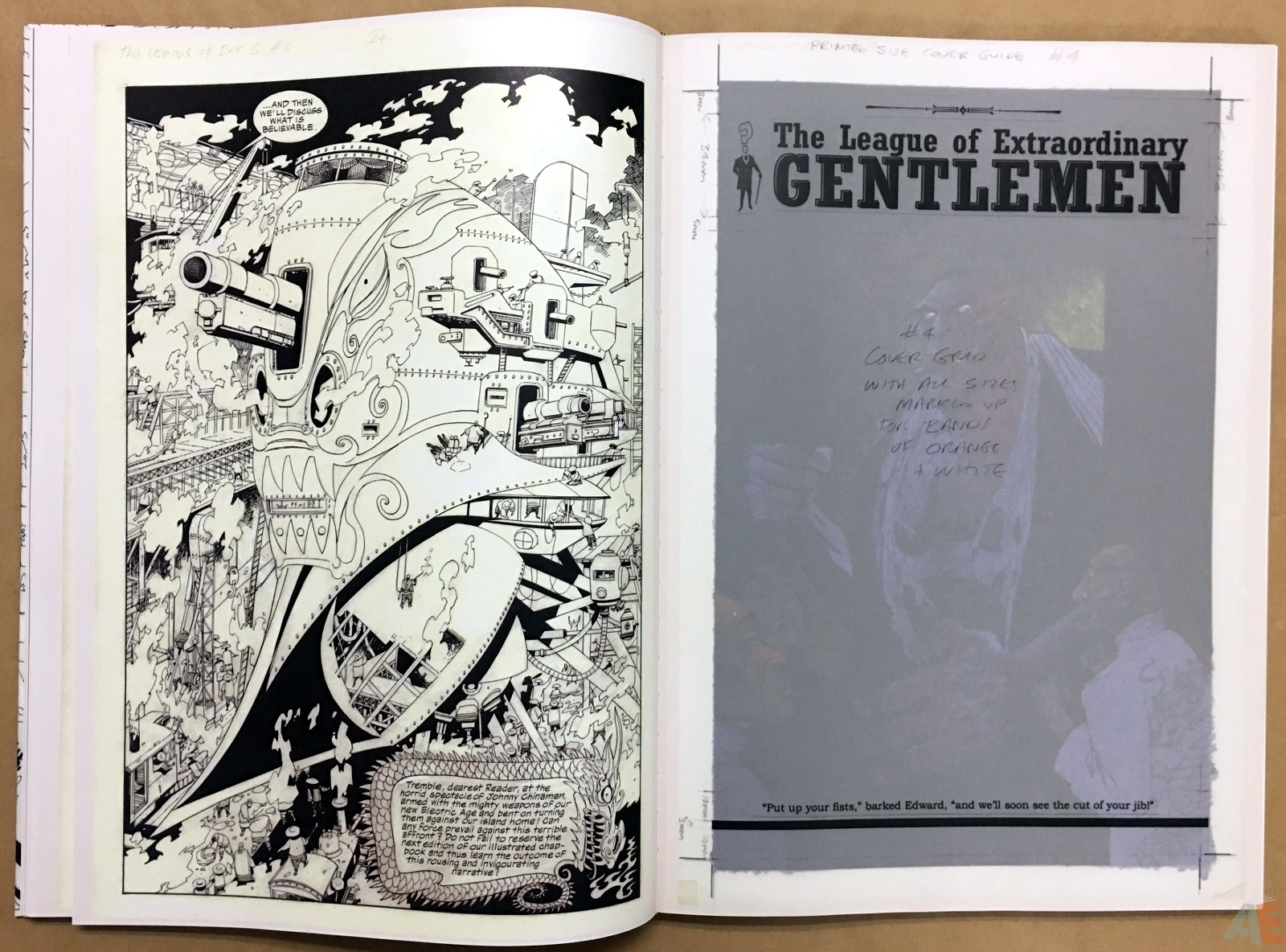 The League Of Extraordinary Gentlemen: Kevin O'Neill Gallery Edition 28