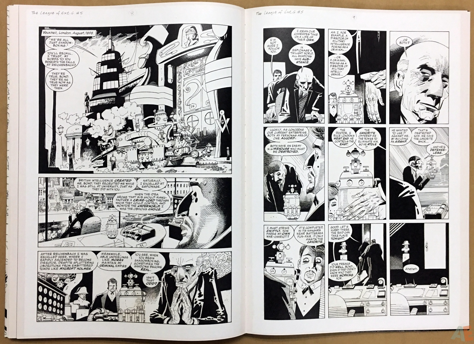The League Of Extraordinary Gentlemen: Kevin O'Neill Gallery Edition 38