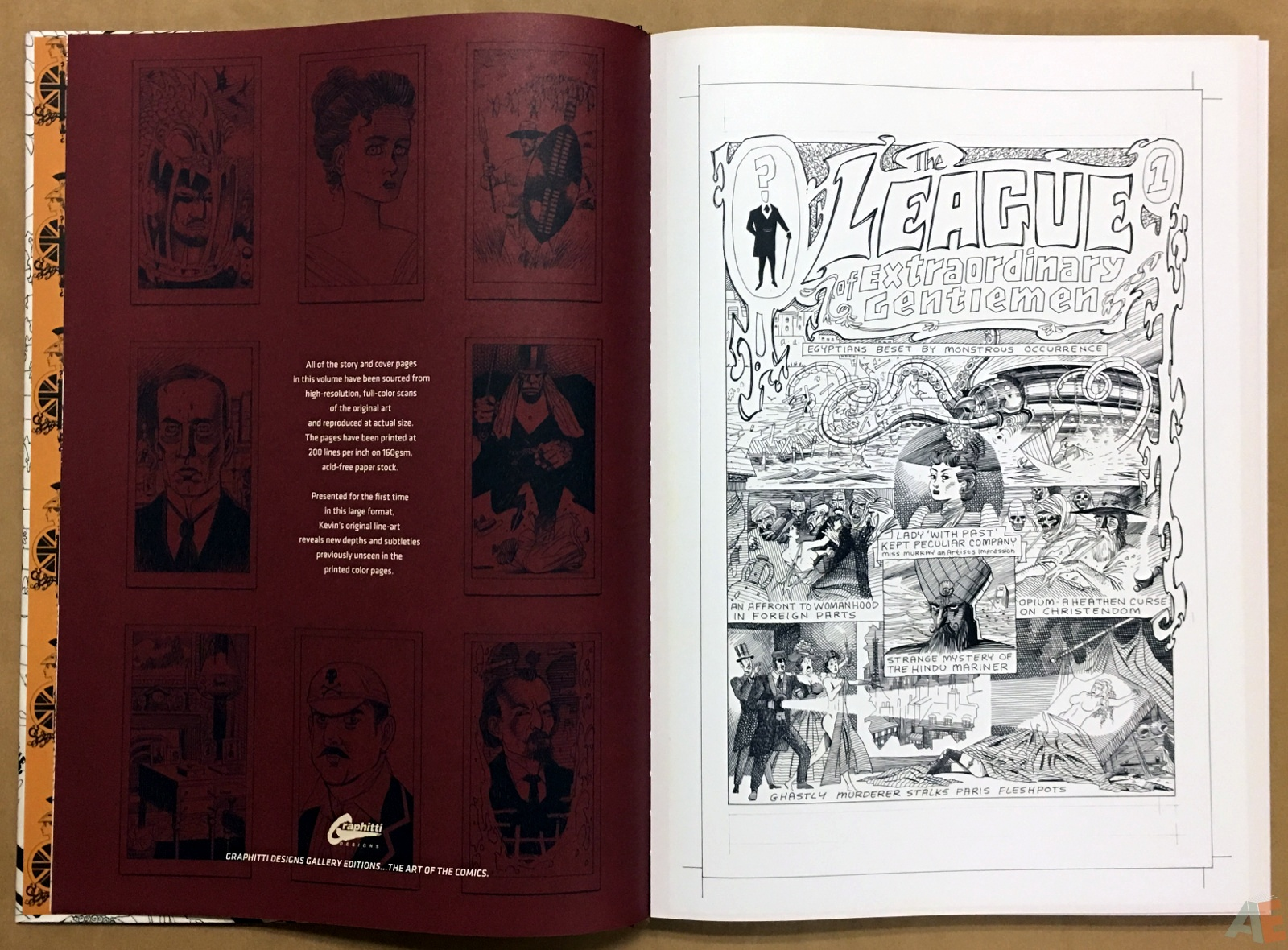 The League Of Extraordinary Gentlemen: Kevin O'Neill Gallery Edition 6