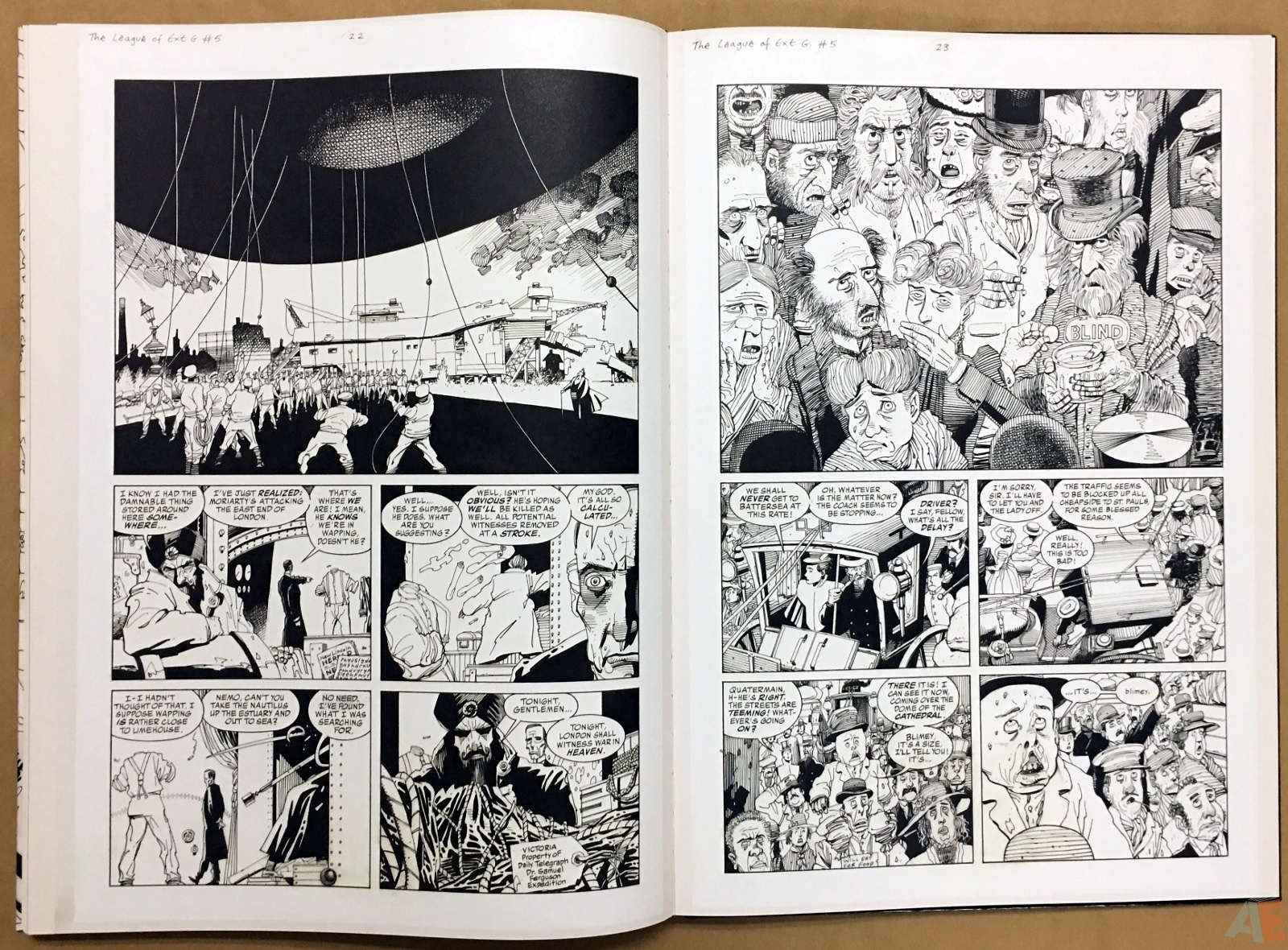 The League Of Extraordinary Gentlemen: Kevin O'Neill Gallery Edition 42