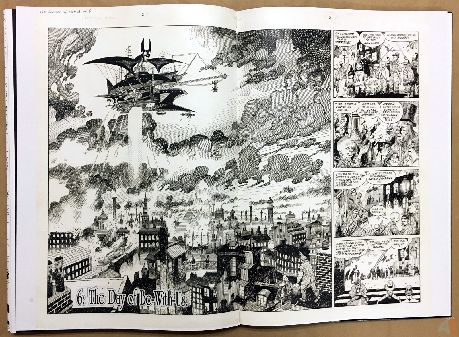 The League Of Extraordinary Gentlemen: Kevin O'Neill Gallery Edition 44