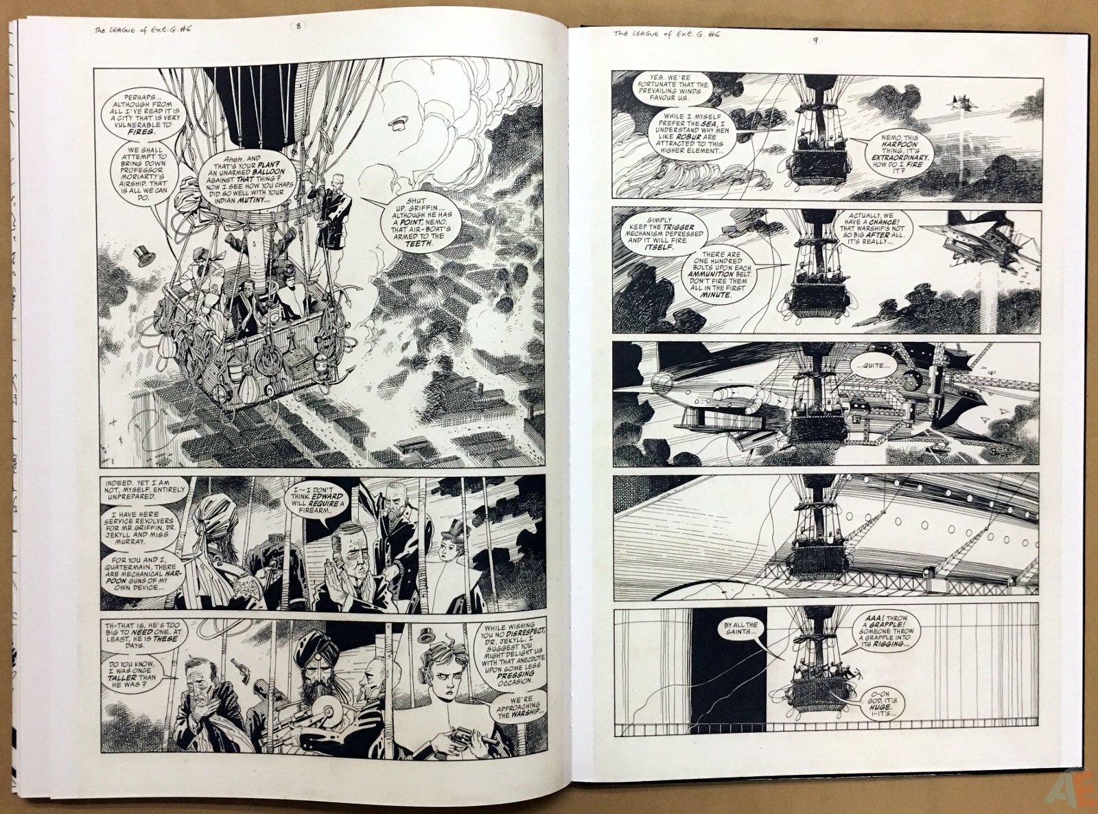 The League Of Extraordinary Gentlemen: Kevin O'Neill Gallery Edition 46