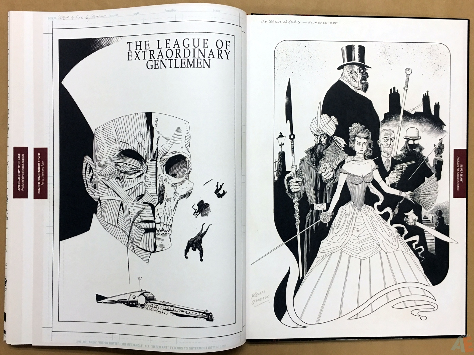 The League Of Extraordinary Gentlemen: Kevin O'Neill Gallery Edition 54