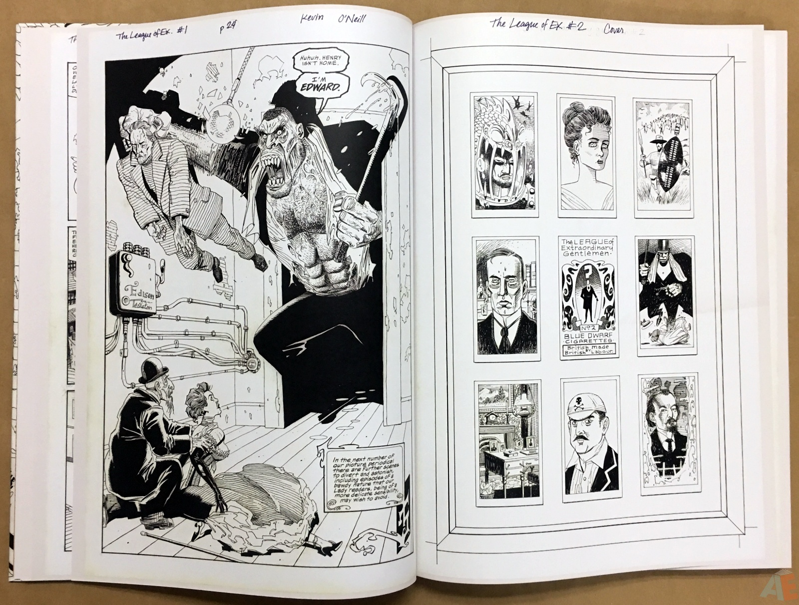 The League Of Extraordinary Gentlemen: Kevin O'Neill Gallery Edition 14