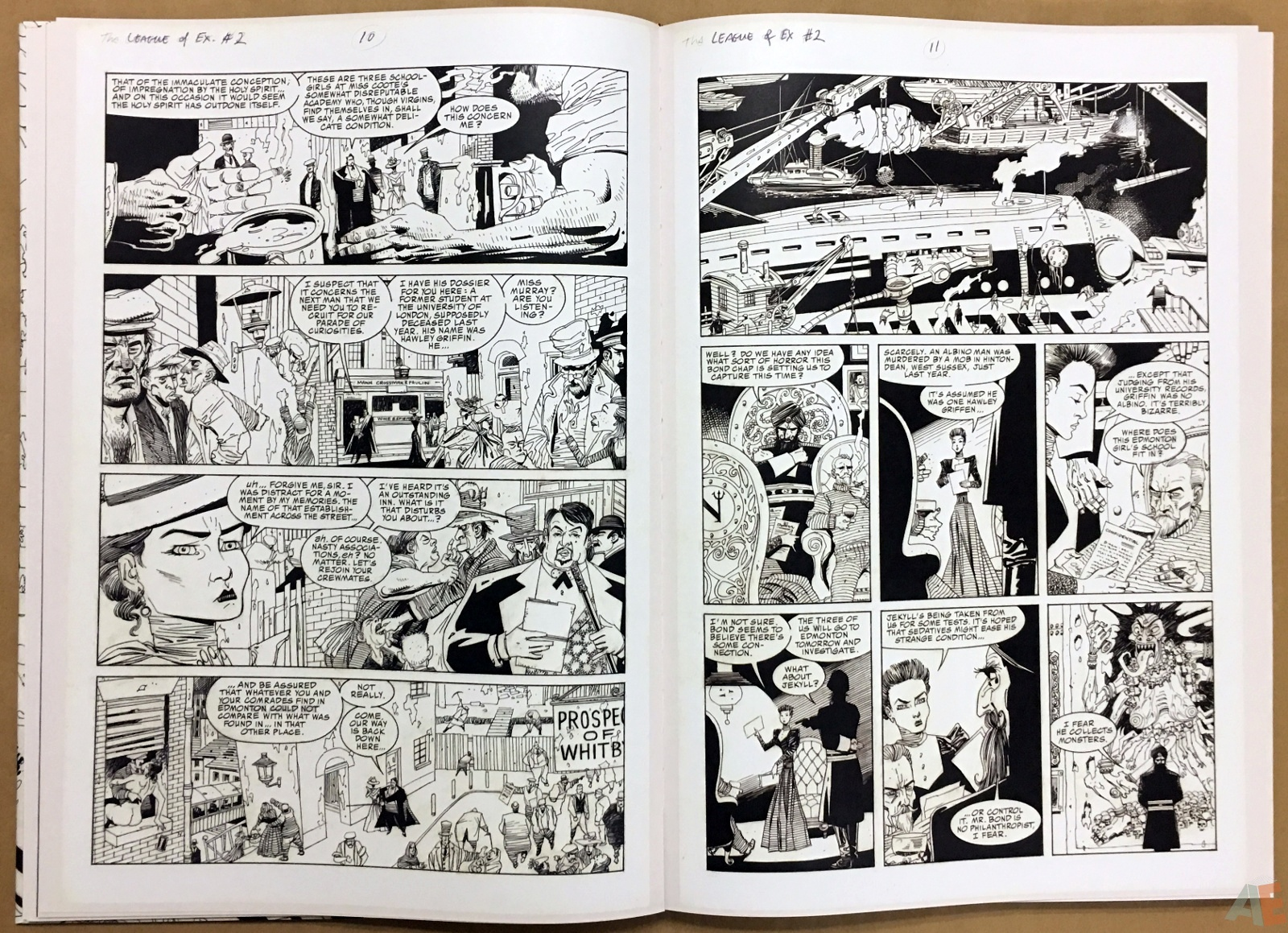The League Of Extraordinary Gentlemen: Kevin O'Neill Gallery Edition 18