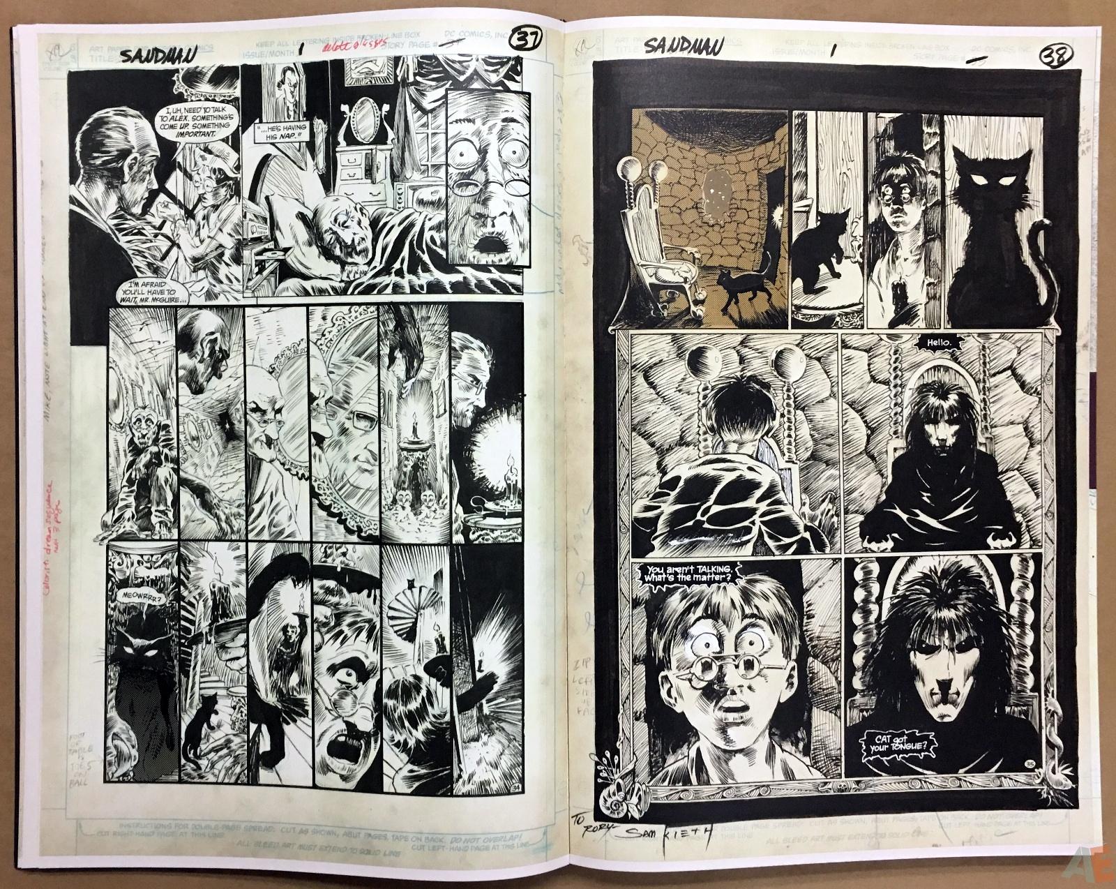 The Sandman Gallery Edition