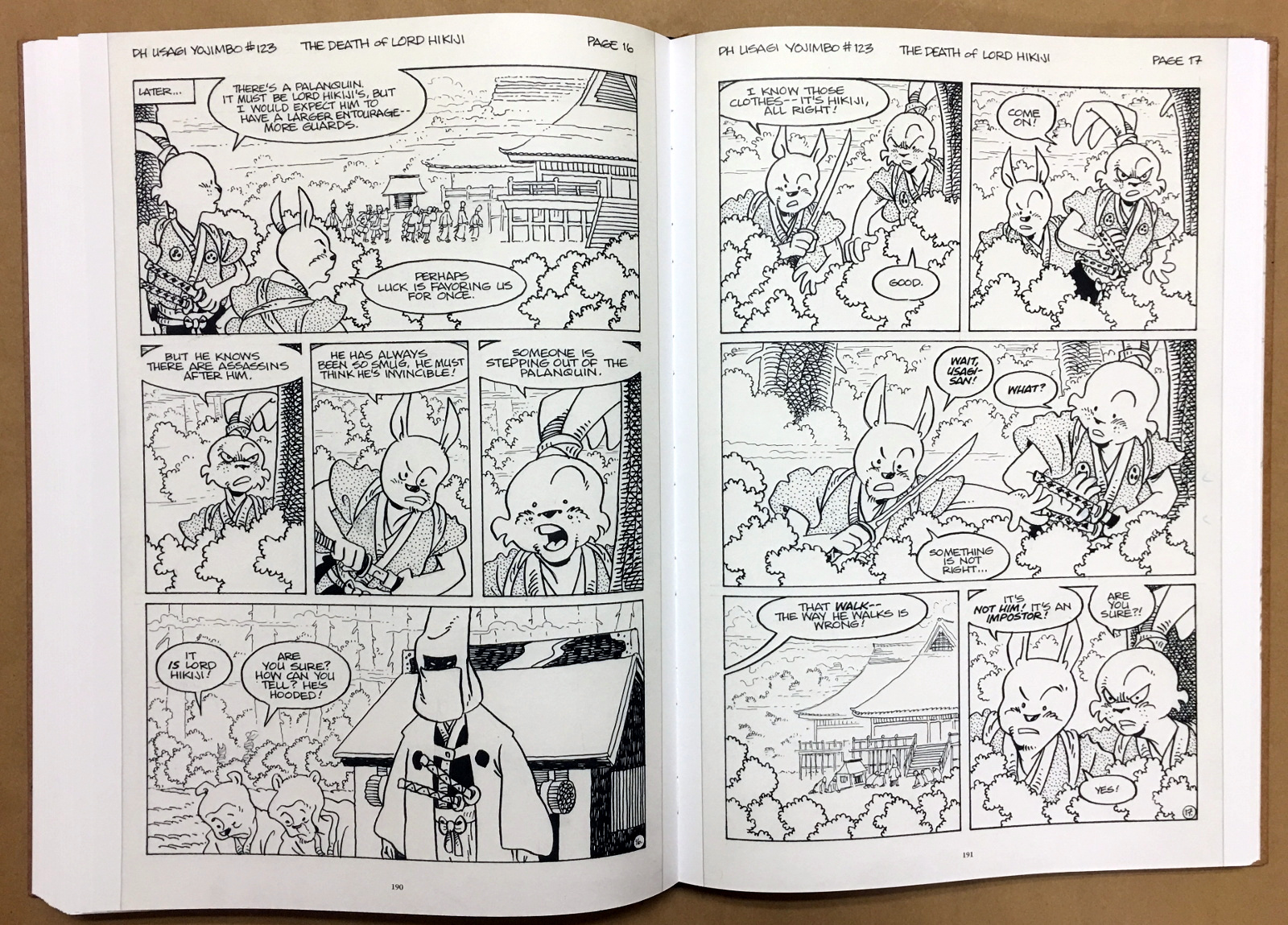 Usagi Yojimbo: The Artist and Other Stories Gallery Edition 36