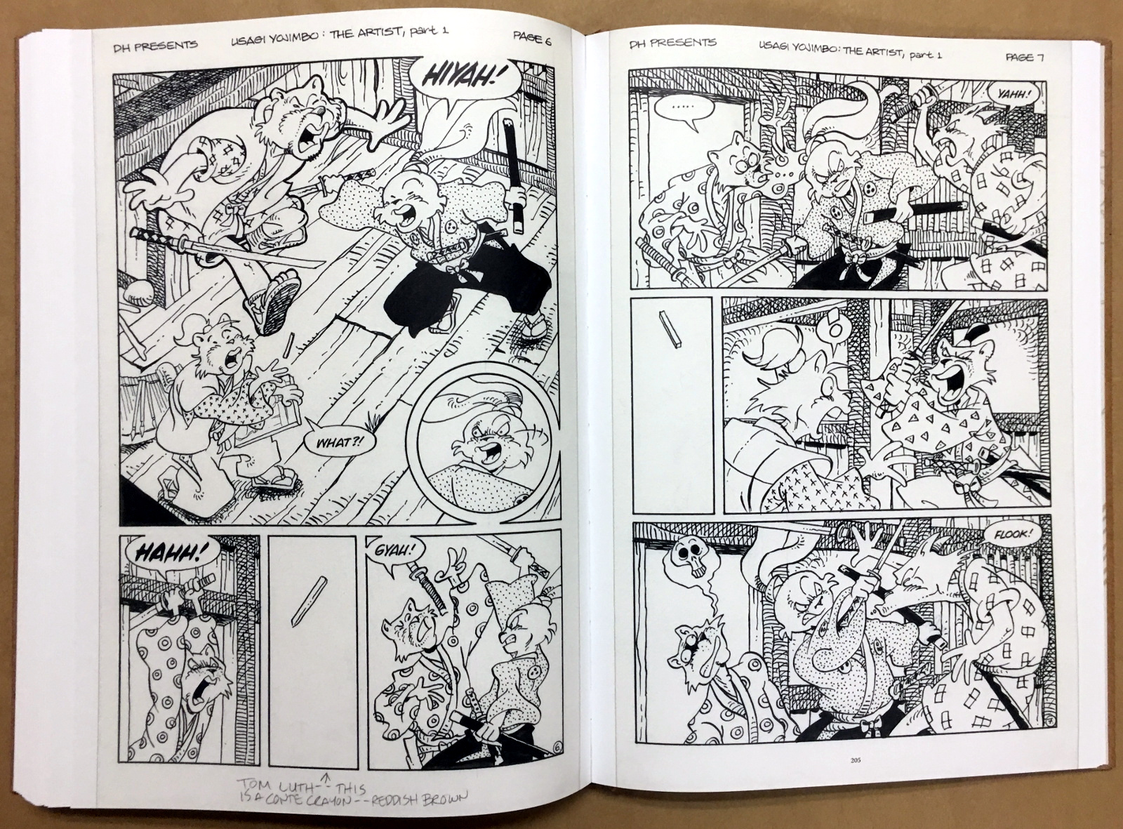 Usagi Yojimbo: The Artist and Other Stories Gallery Edition 38