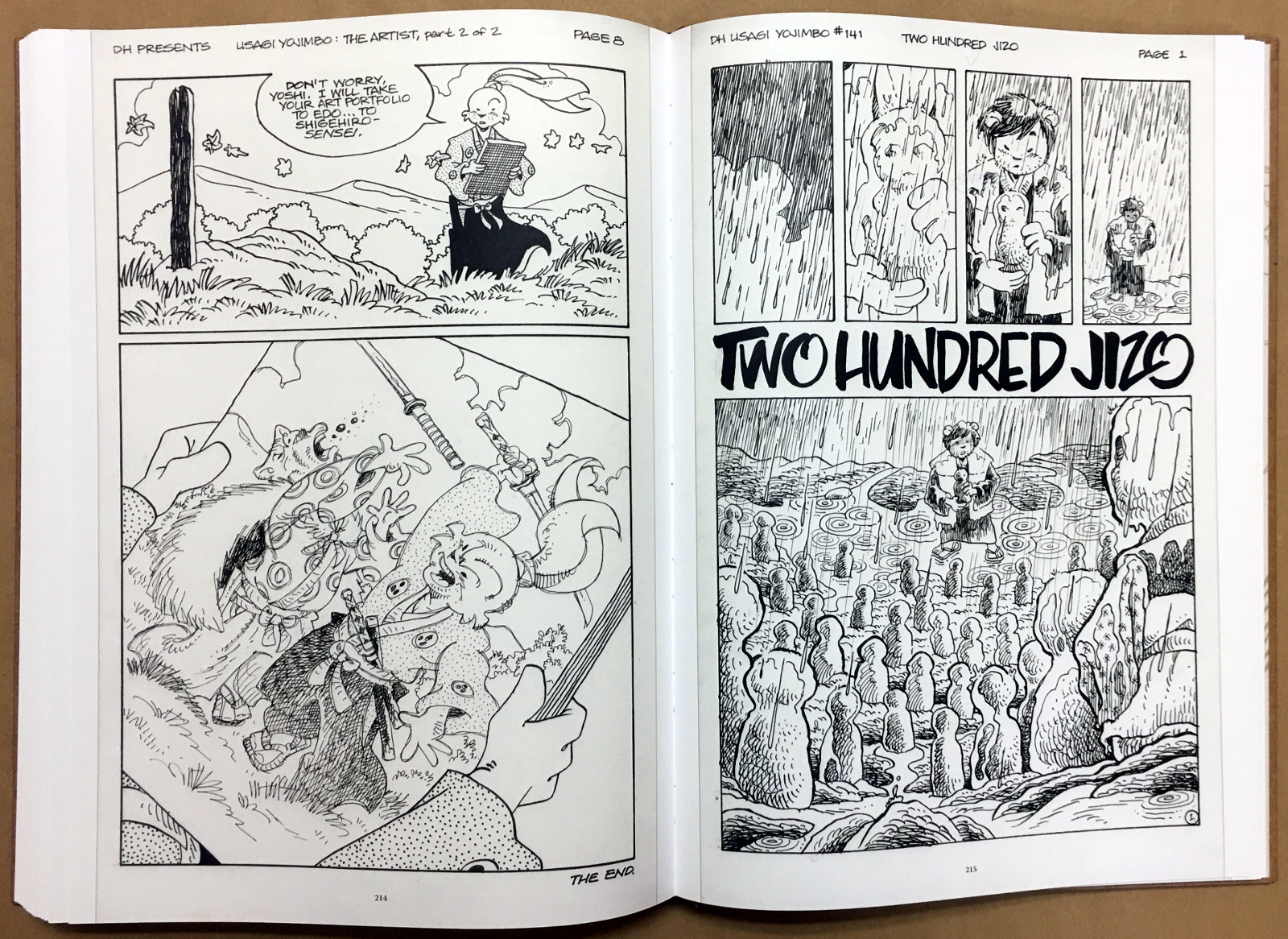 Usagi Yojimbo: The Artist and Other Stories Gallery Edition 40