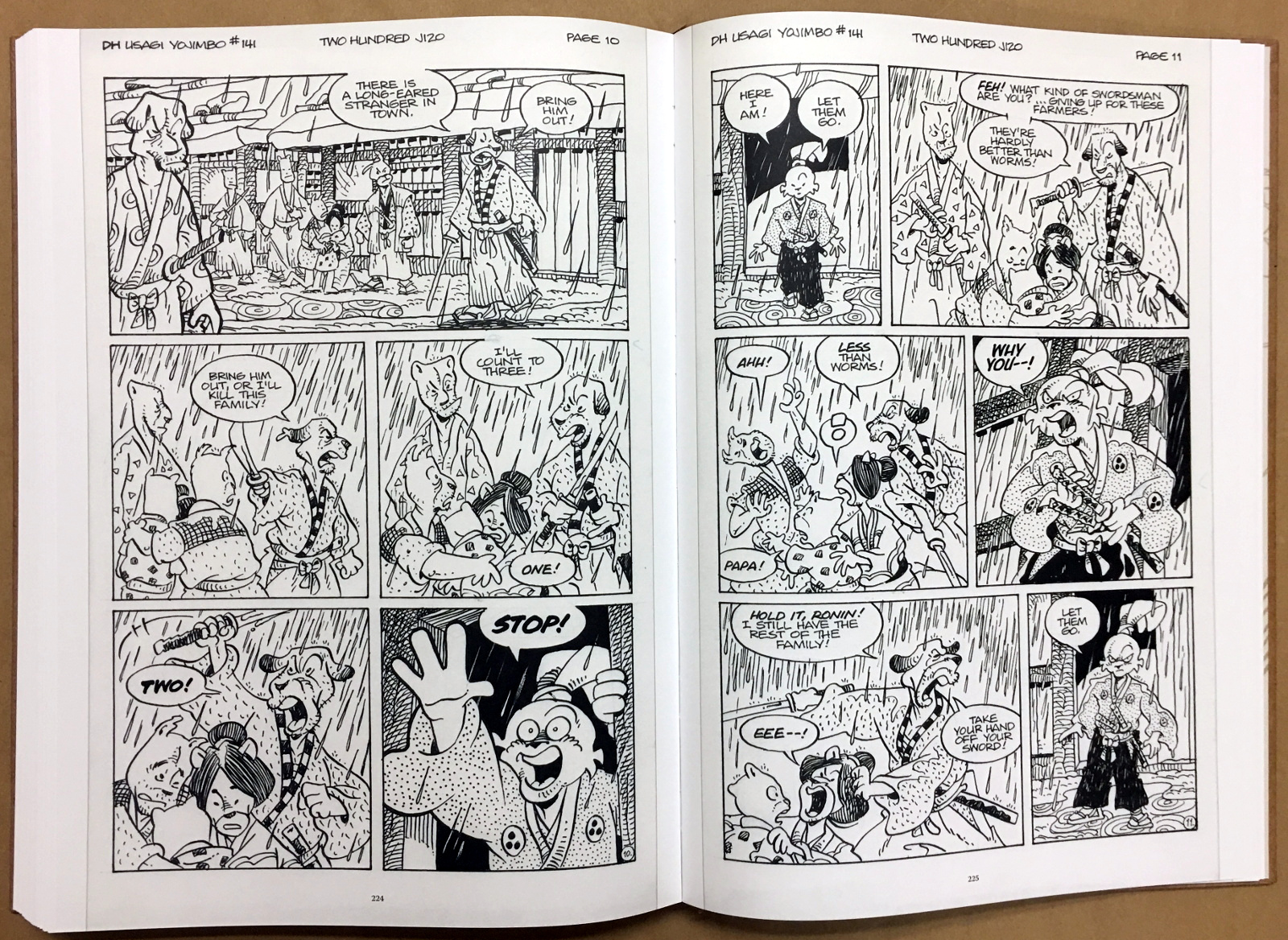 Usagi Yojimbo: The Artist and Other Stories Gallery Edition 42