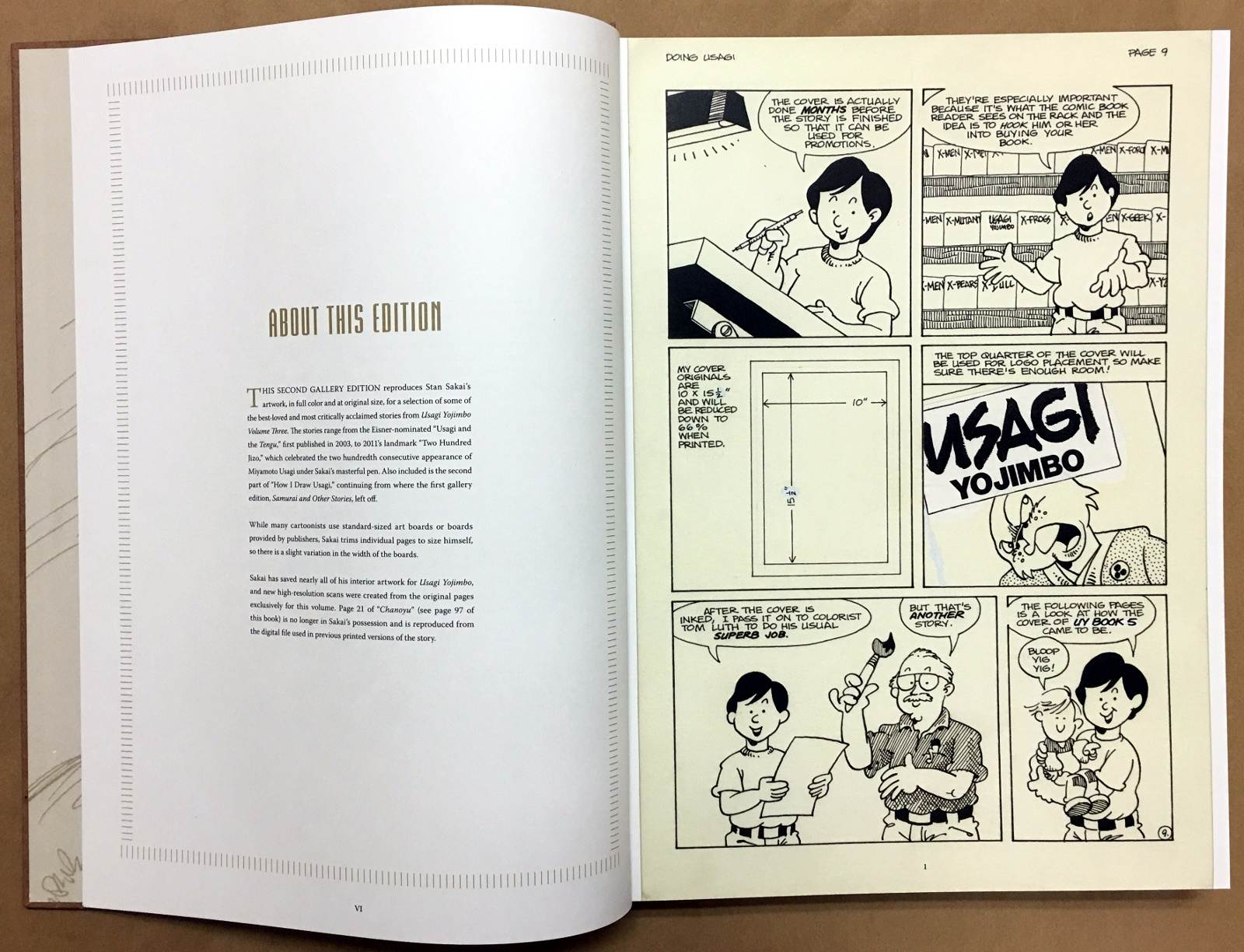 Usagi Yojimbo: The Artist and Other Stories Gallery Edition 8