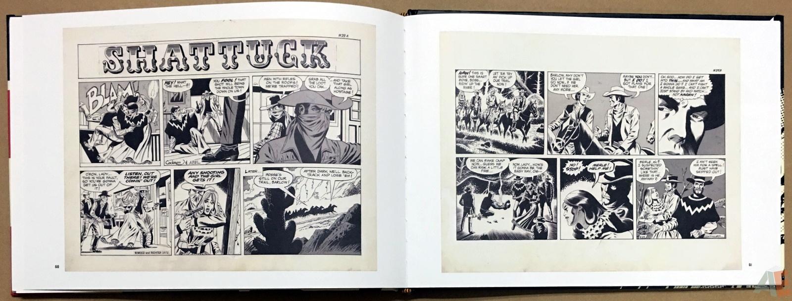 Wallace Wood Presents Shattuck Original Art Edition 22