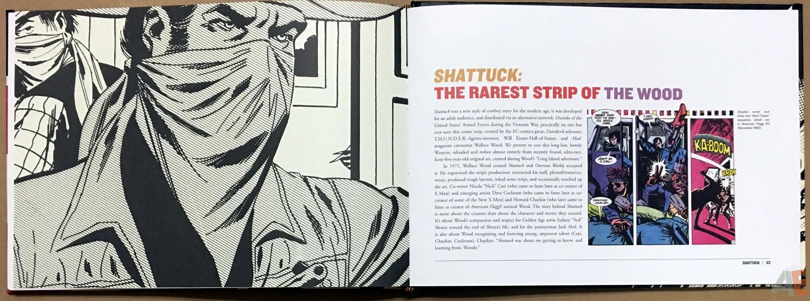Wallace Wood Presents Shattuck Original Art Edition 24