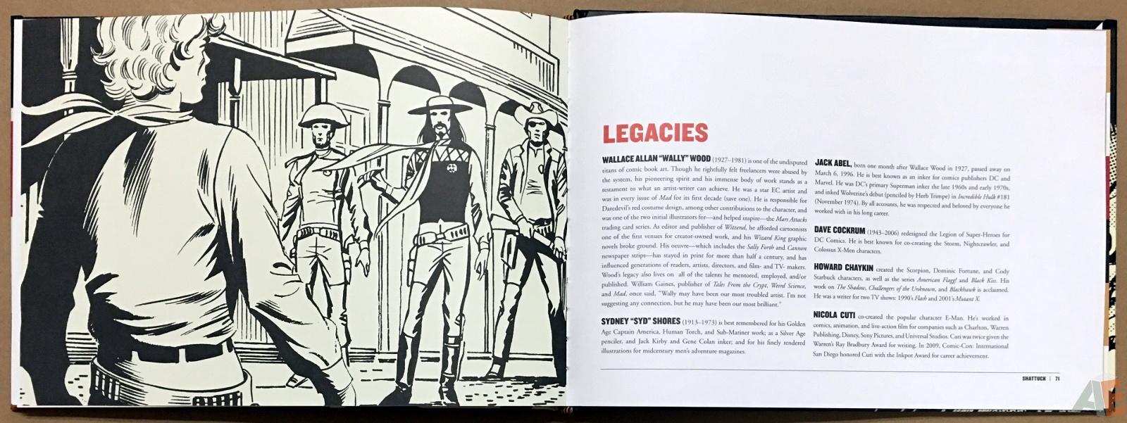 Wallace Wood Presents Shattuck Original Art Edition 26