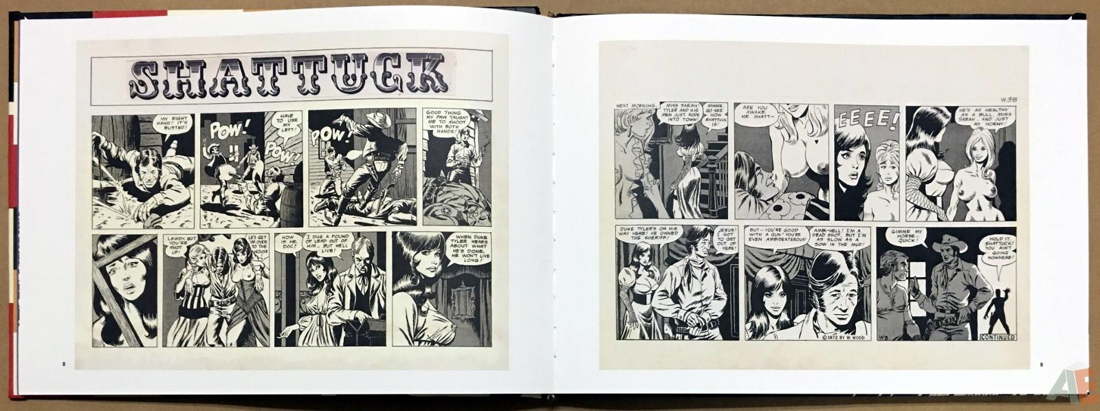 Wallace Wood Presents Shattuck Original Art Edition 8