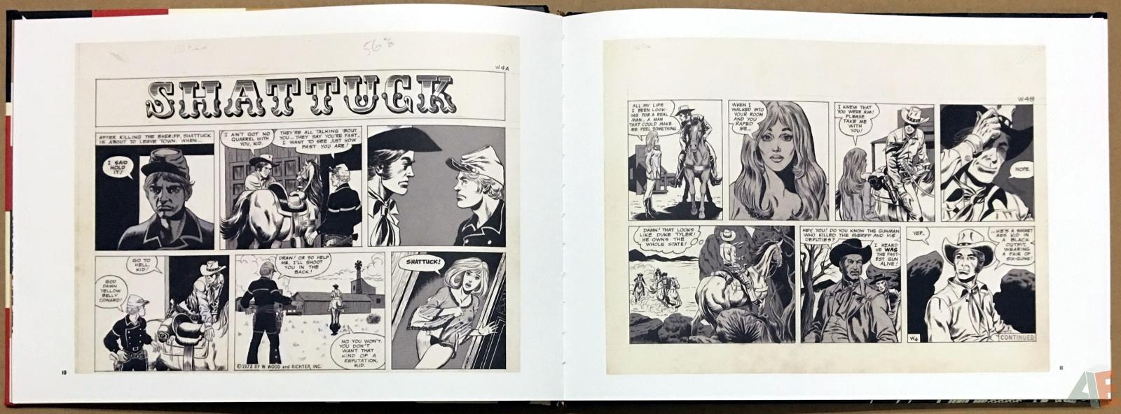Wallace Wood Presents Shattuck Original Art Edition 10