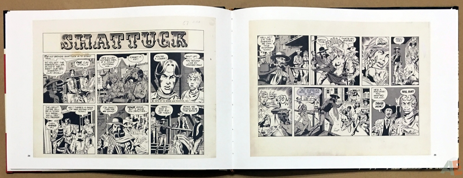 Wallace Wood Presents Shattuck Original Art Edition 14