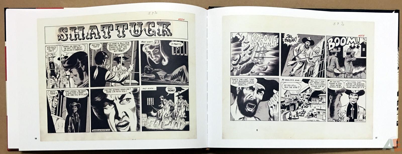 Wallace Wood Presents Shattuck Original Art Edition 20