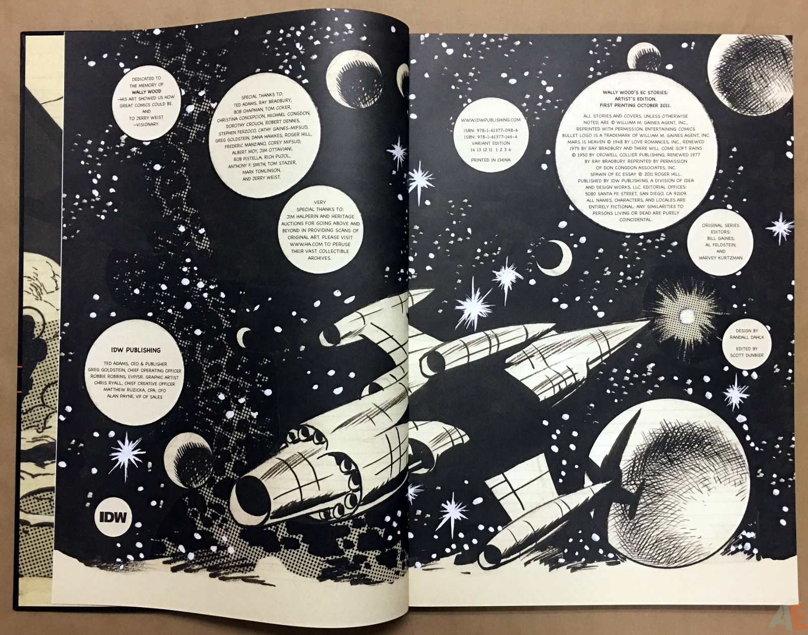Wally Wood's EC Stories Artist's Edition 4