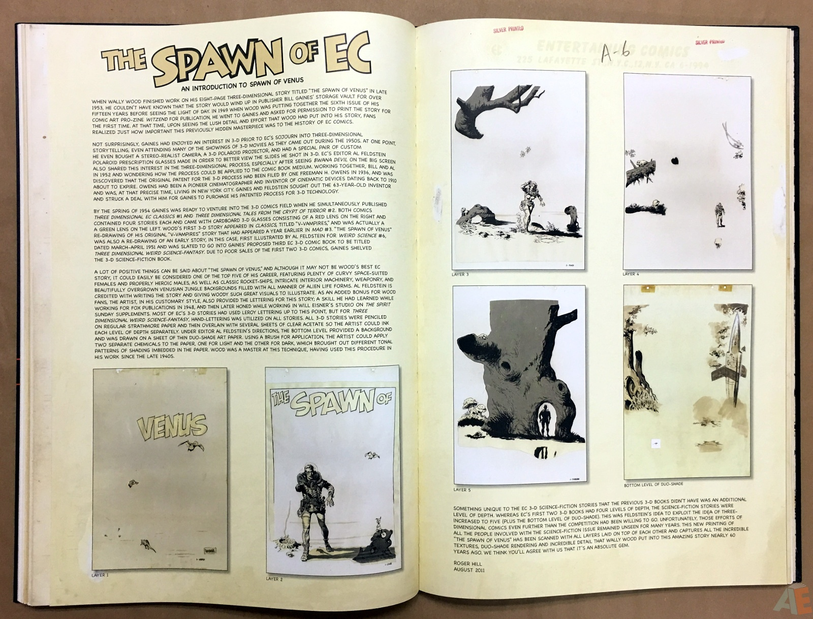 Wally Wood's EC Stories Artist's Edition 22