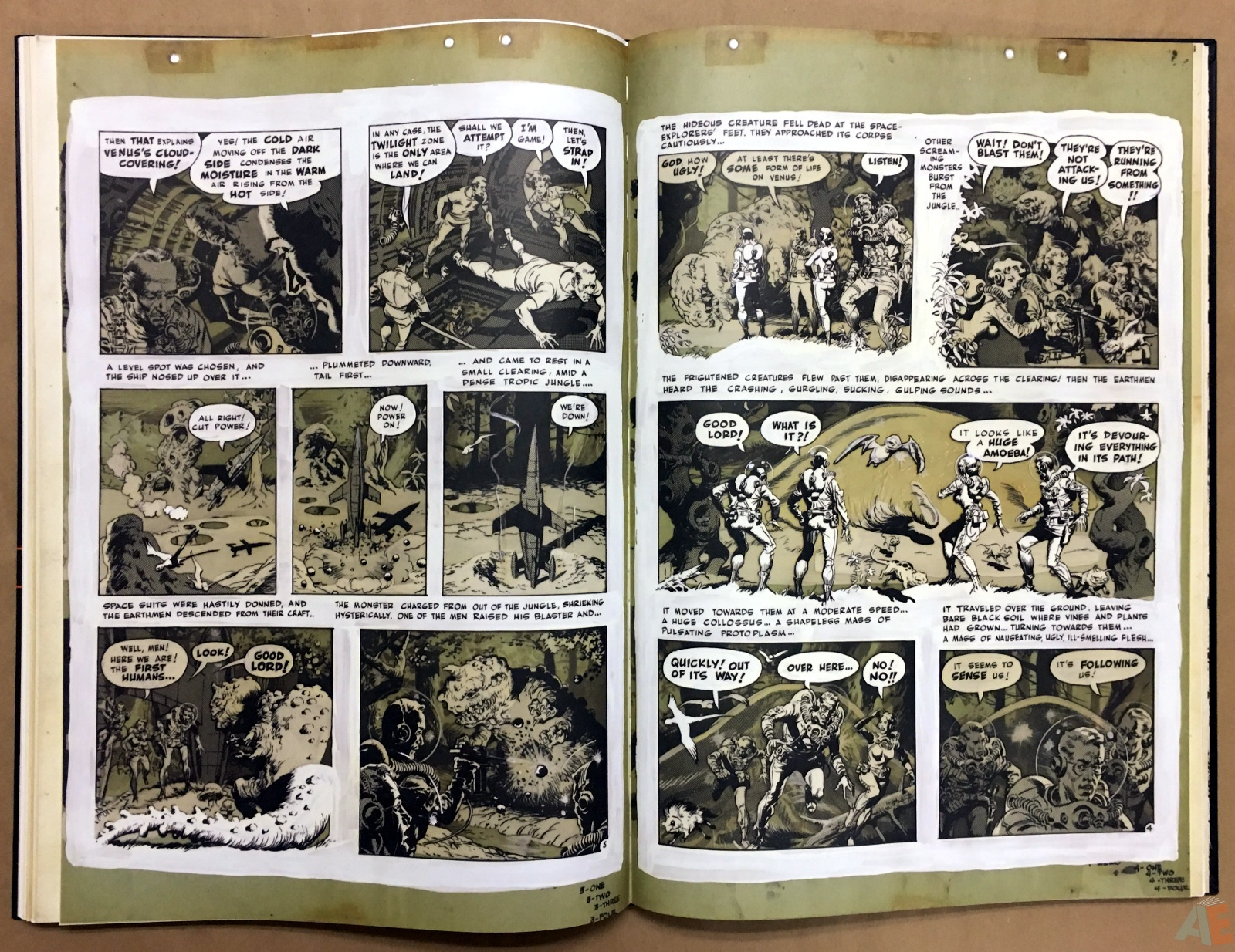 Wally Wood's EC Stories Artist's Edition 24