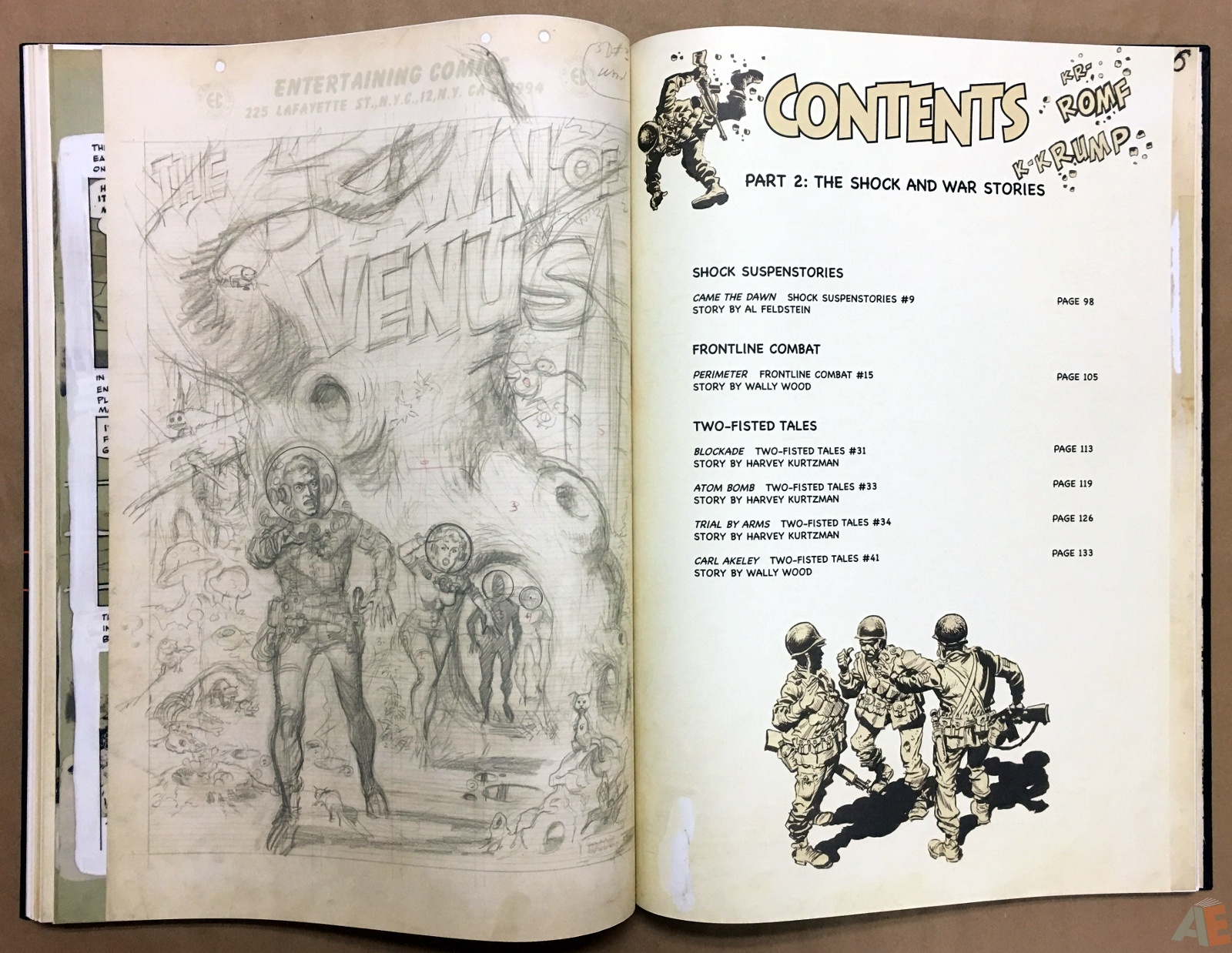 Wally Wood's EC Stories Artist's Edition 26