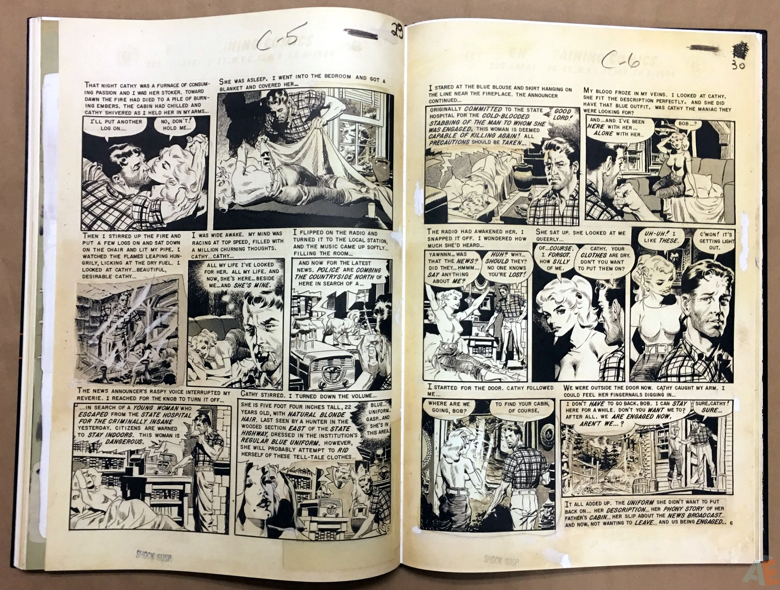 Wally Wood's EC Stories Artist's Edition 28