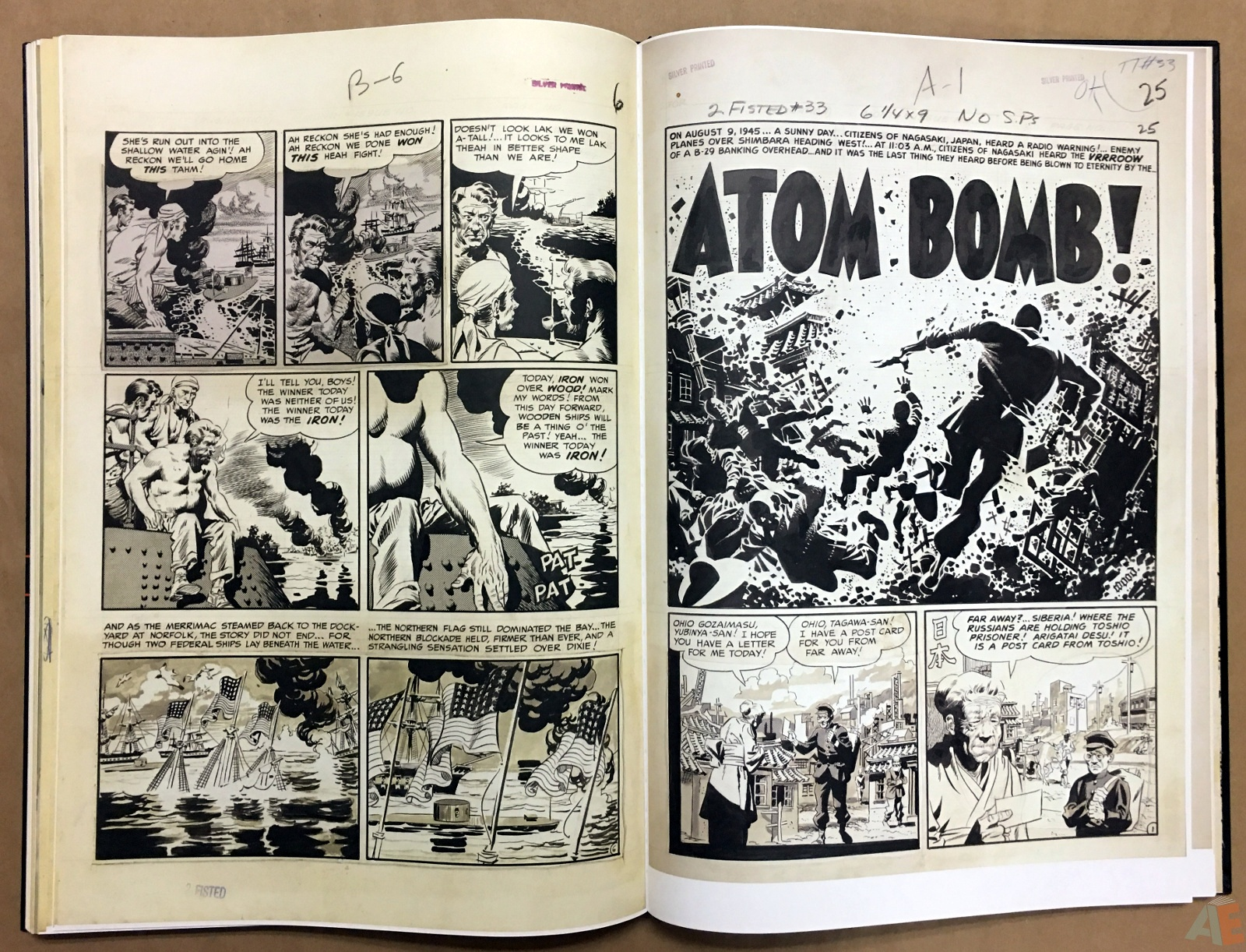 Wally Wood's EC Stories Artist's Edition 32